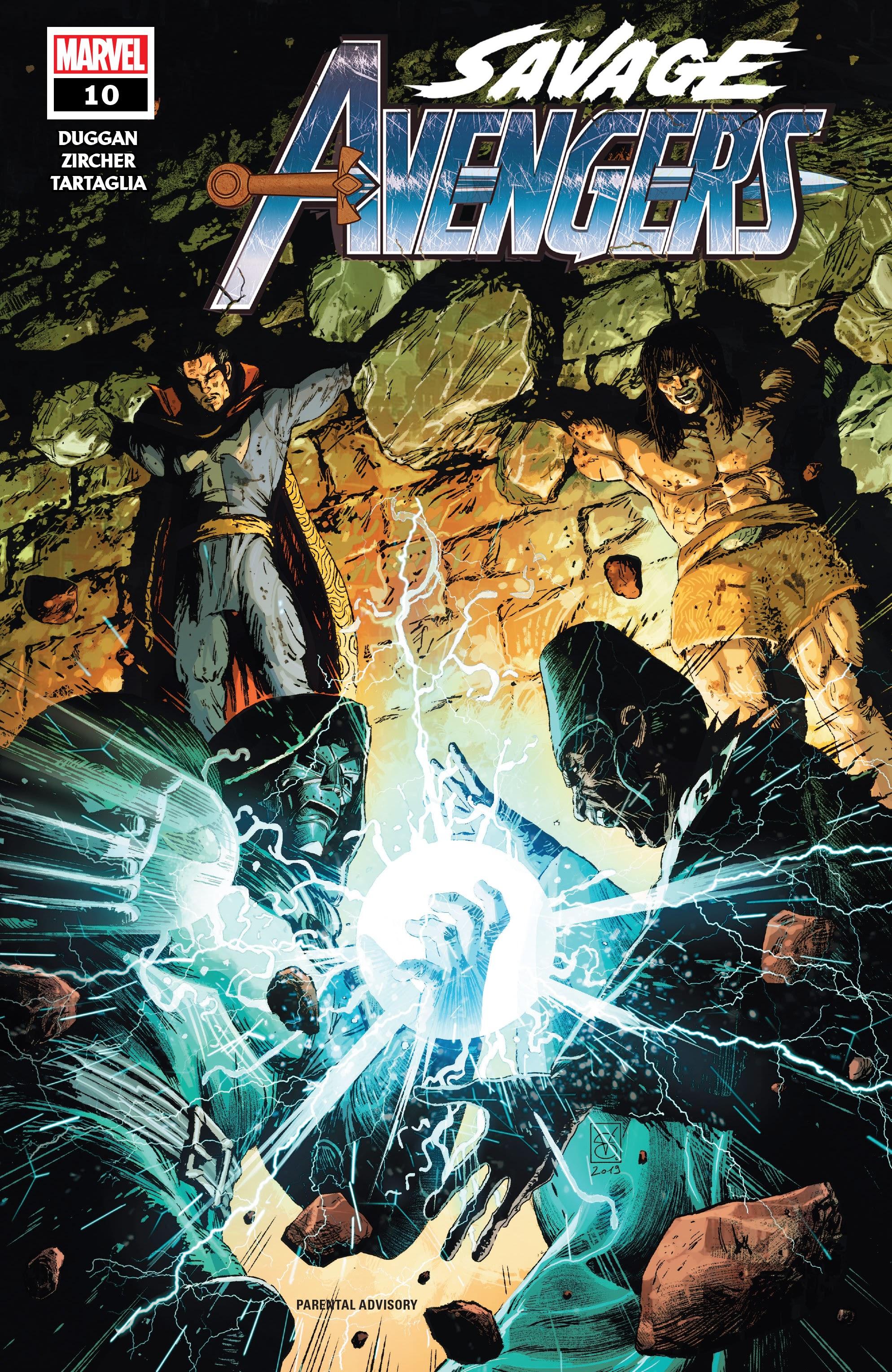 Savage Avengers 10 Page 1