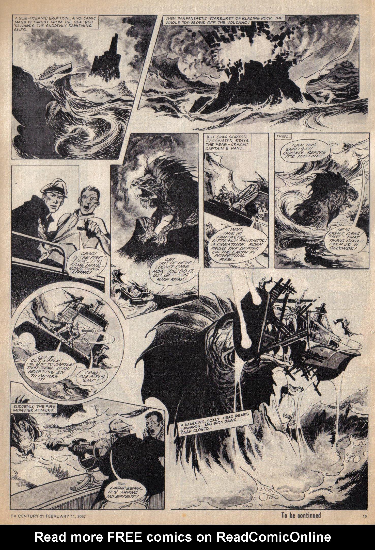 Read online TV Century 21 (TV 21) comic -  Issue #108 - 12