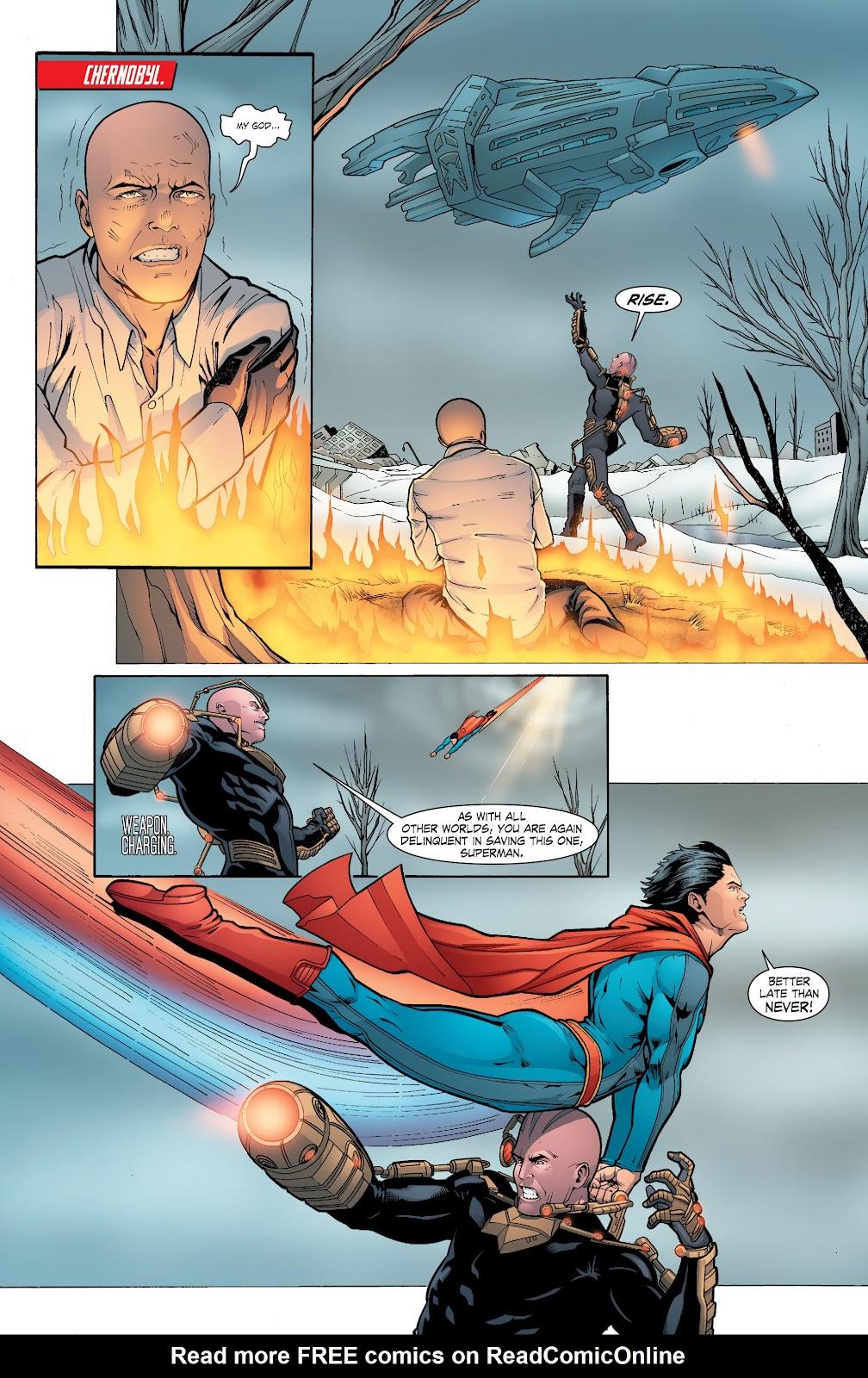 Read online Smallville Season 11 [II] comic -  Issue # TPB 6 - 160