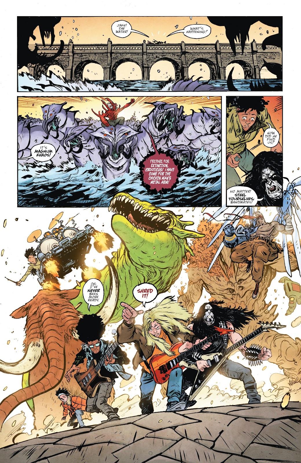 Read online Murder Falcon comic -  Issue #6 - 9