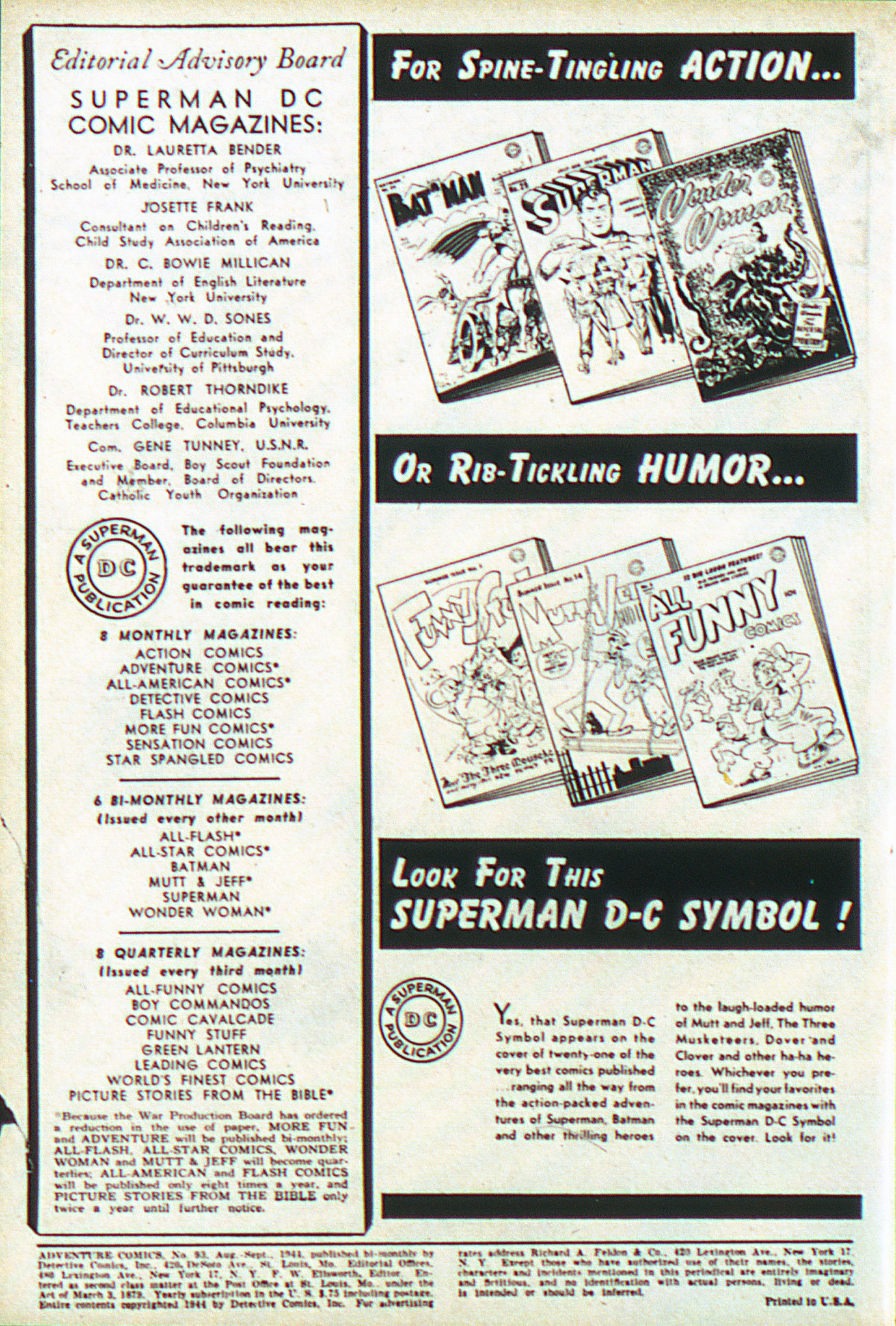 Read online Adventure Comics (1938) comic -  Issue #93 - 3