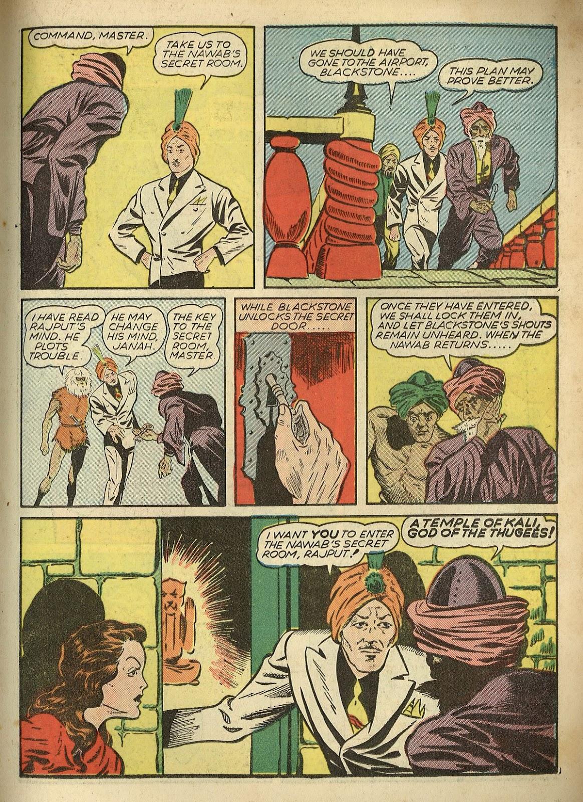 Read online Super-Magician Comics comic -  Issue #1 - 35