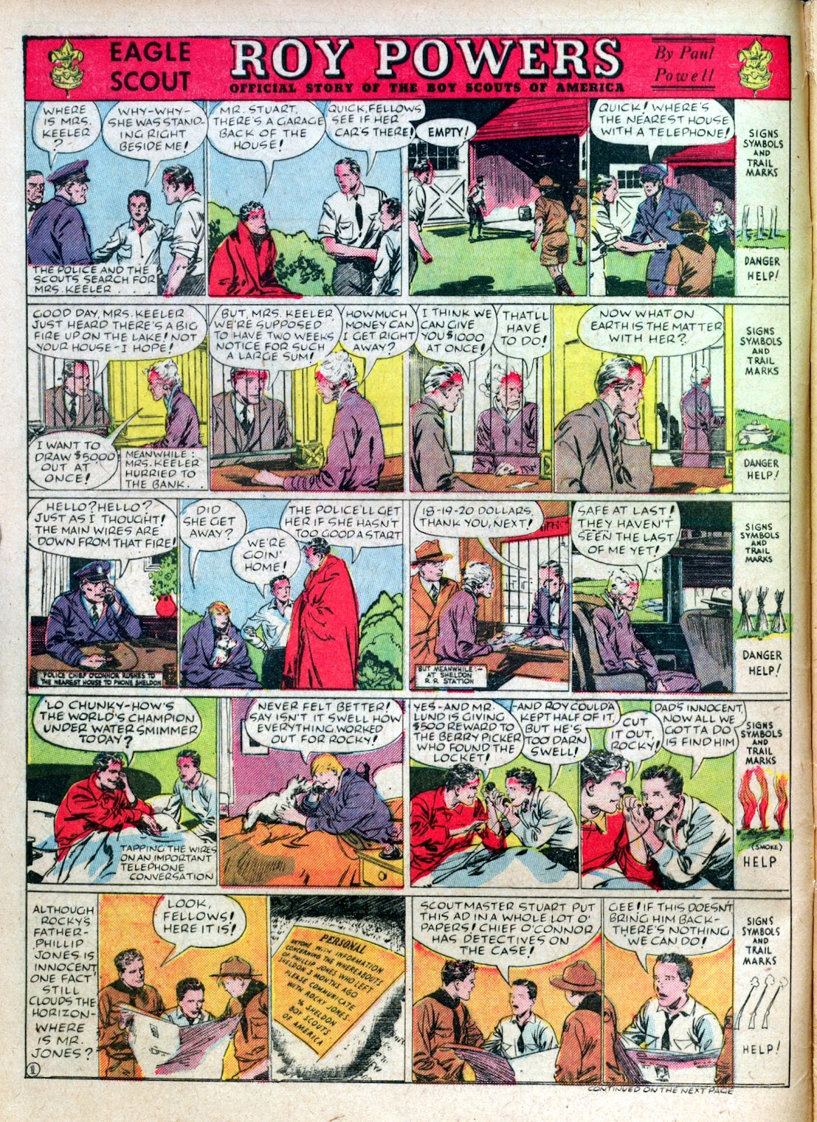 Read online Famous Funnies comic -  Issue #45 - 6