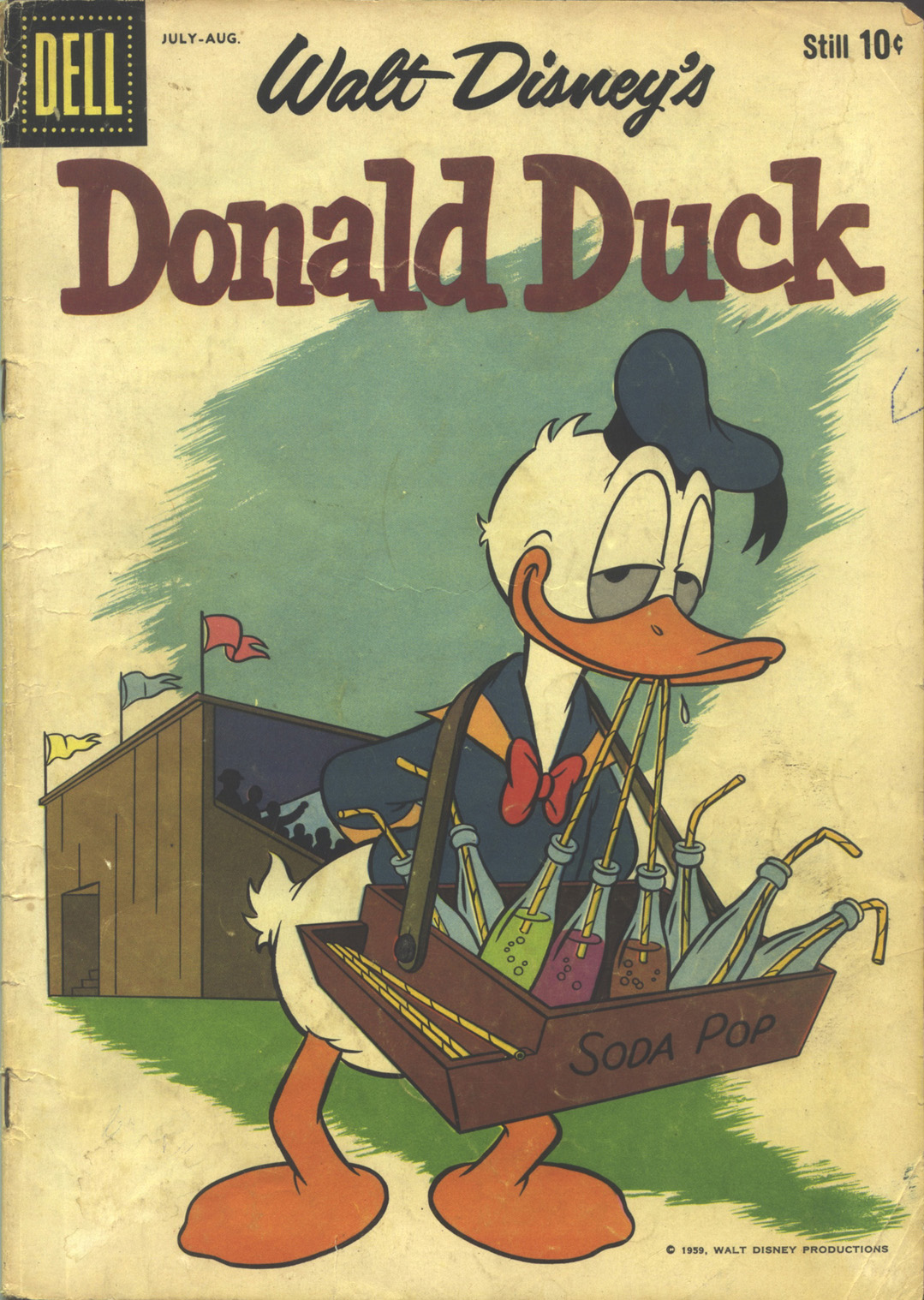 Walt Disney's Donald Duck (1952) issue 66 - Page 1