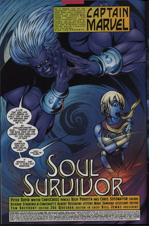 Captain Marvel (1999) Issue #33 #34 - English 5