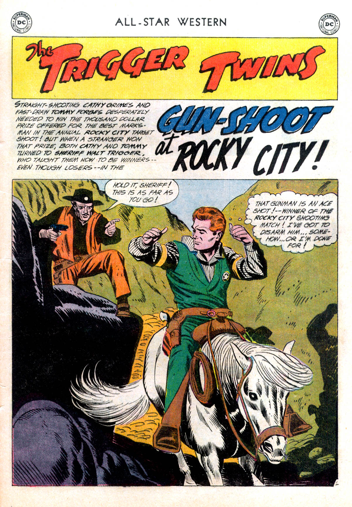Read online All-Star Western (1951) comic -  Issue #116 - 25