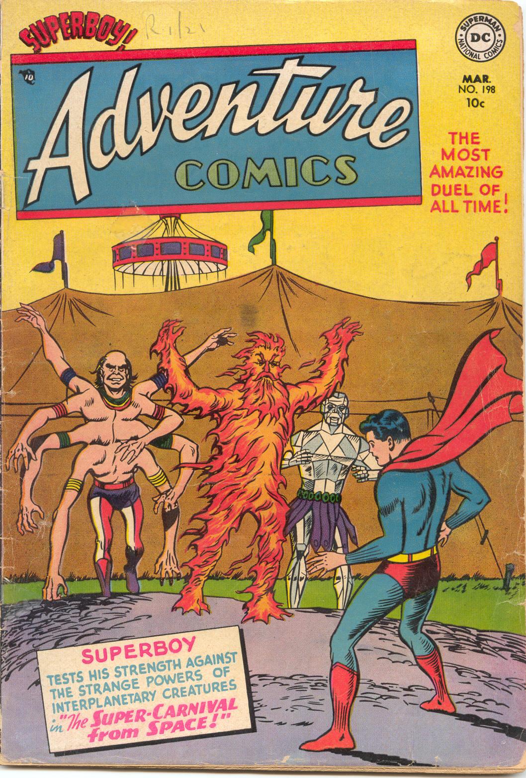 Read online Adventure Comics (1938) comic -  Issue #198 - 1