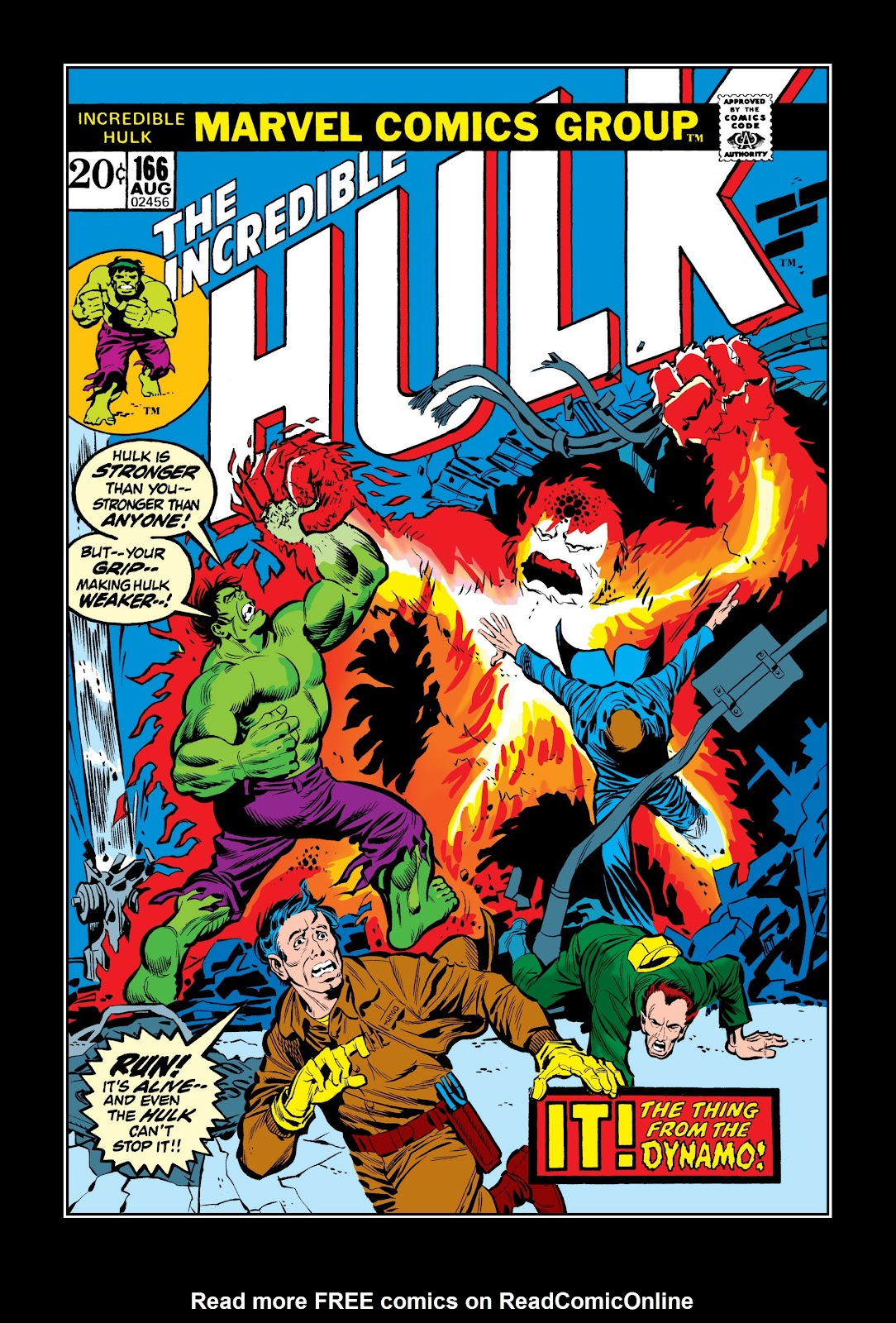 Read online Marvel Masterworks: The Incredible Hulk comic -  Issue # TPB 9 (Part 2) - 97