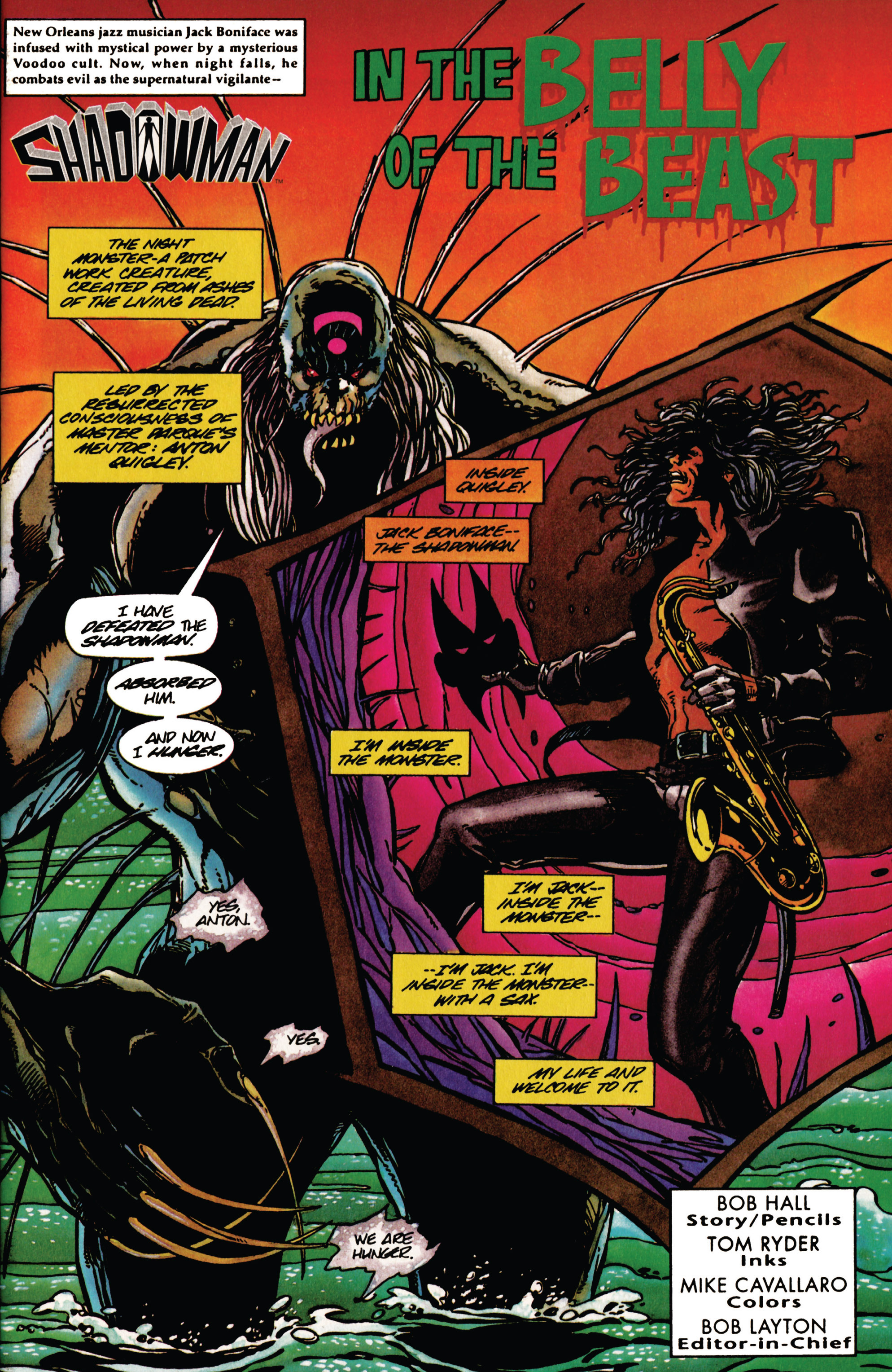Read online Shadowman (1992) comic -  Issue #32 - 2