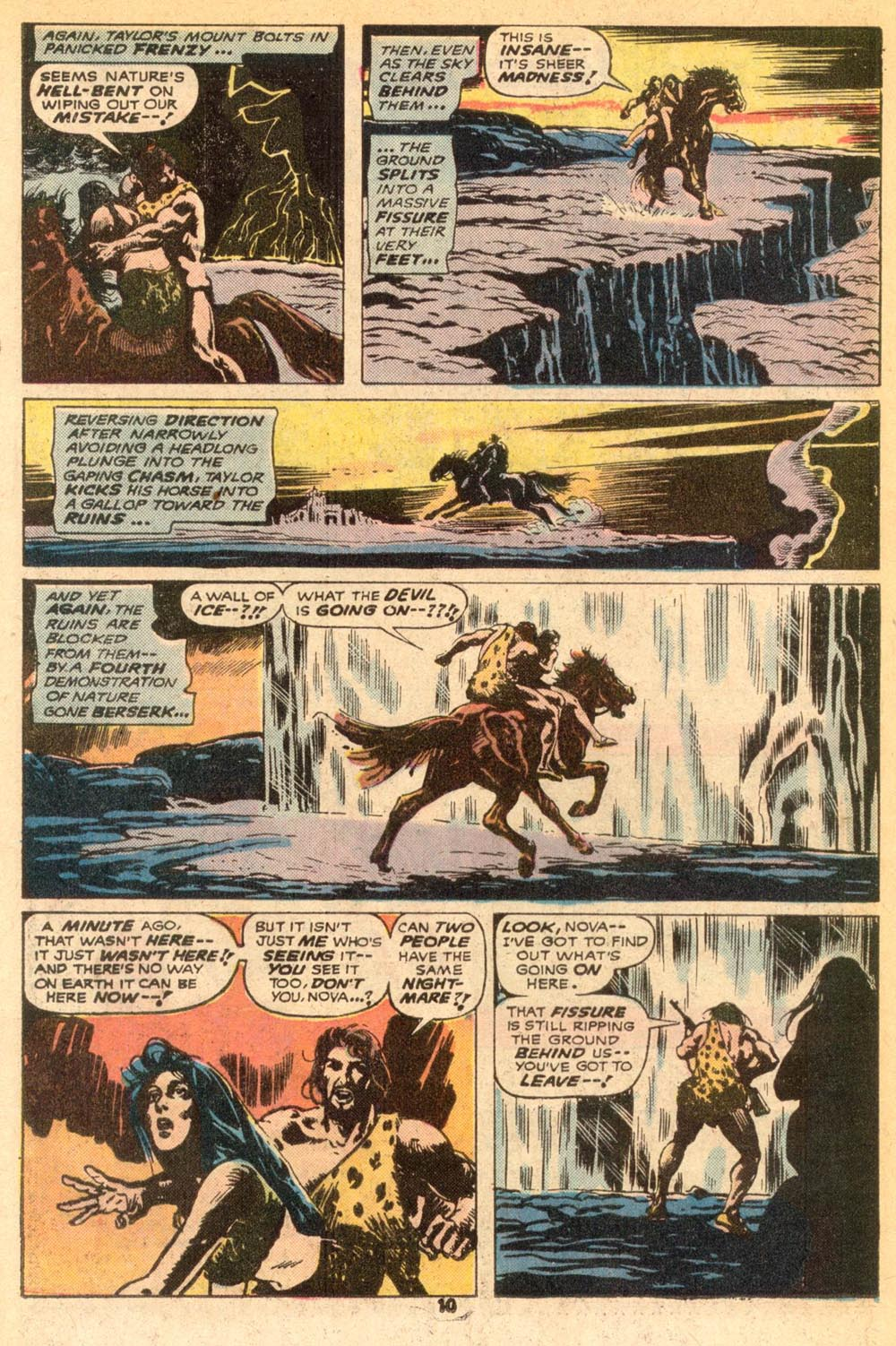 Read online Adventures on the Planet of the Apes comic -  Issue #7 - 7