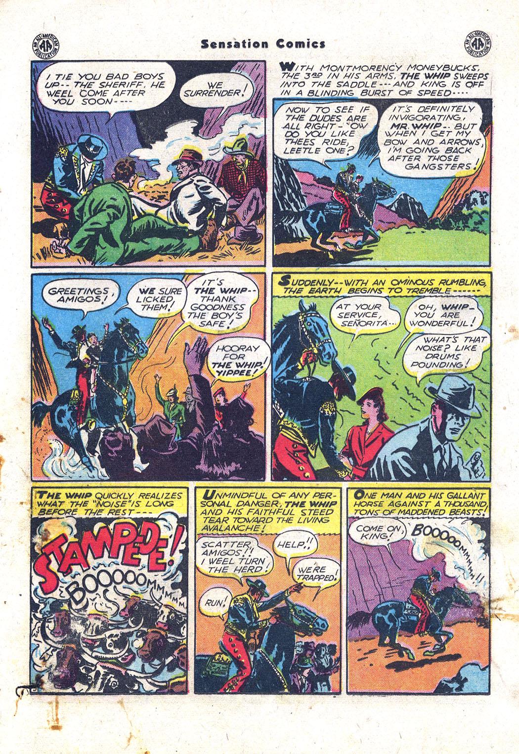 Read online Sensation (Mystery) Comics comic -  Issue #43 - 28