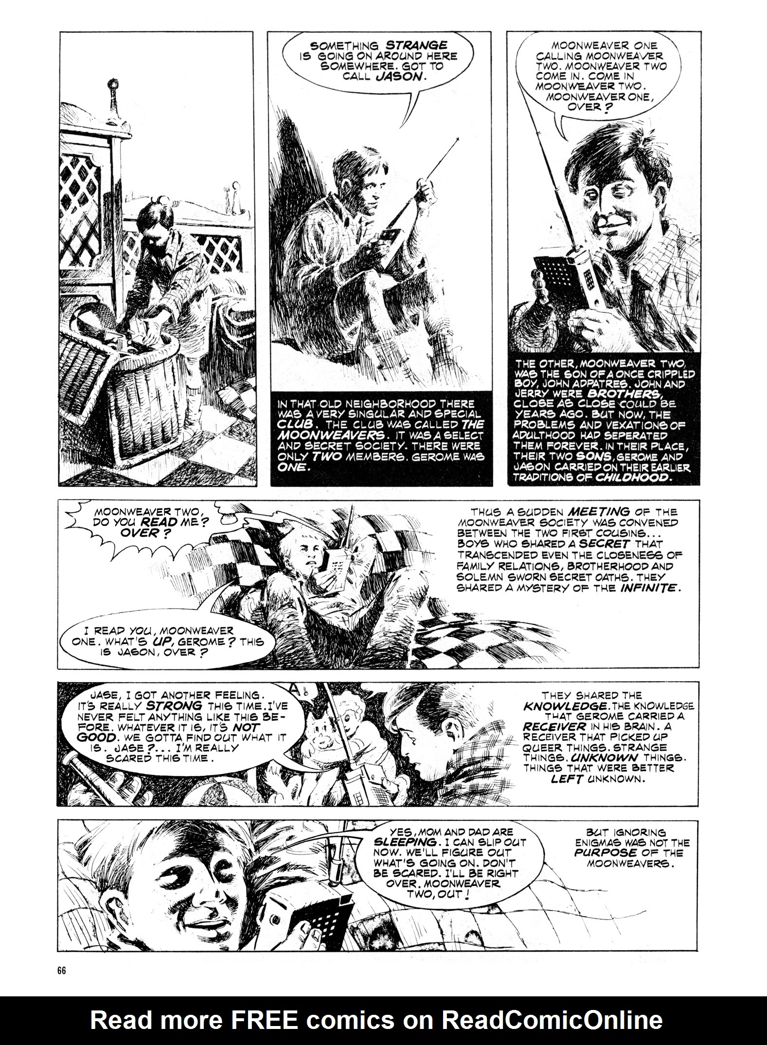 Read online Eerie Archives comic -  Issue # TPB 16 - 67
