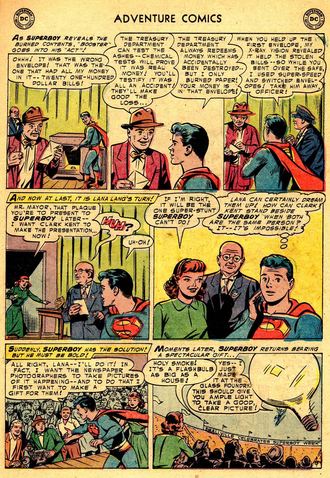 Read online Adventure Comics (1938) comic -  Issue #209 - 11