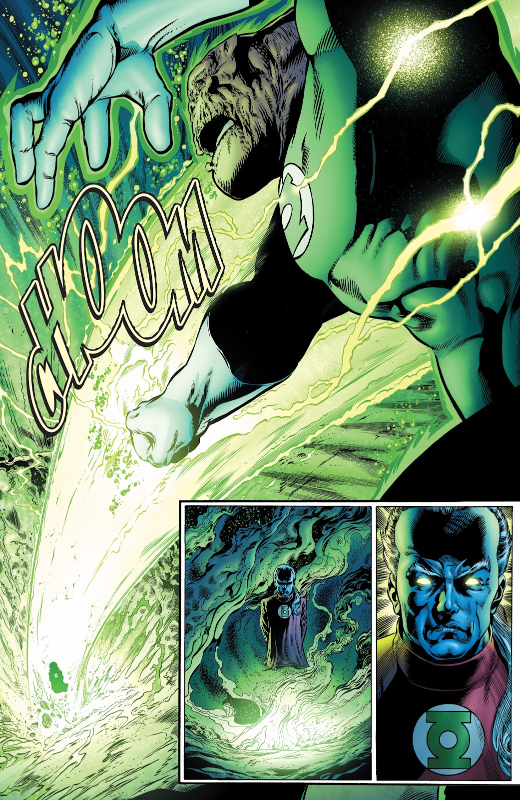 Read online Green Lantern by Geoff Johns comic -  Issue # TPB 1 (Part 1) - 69