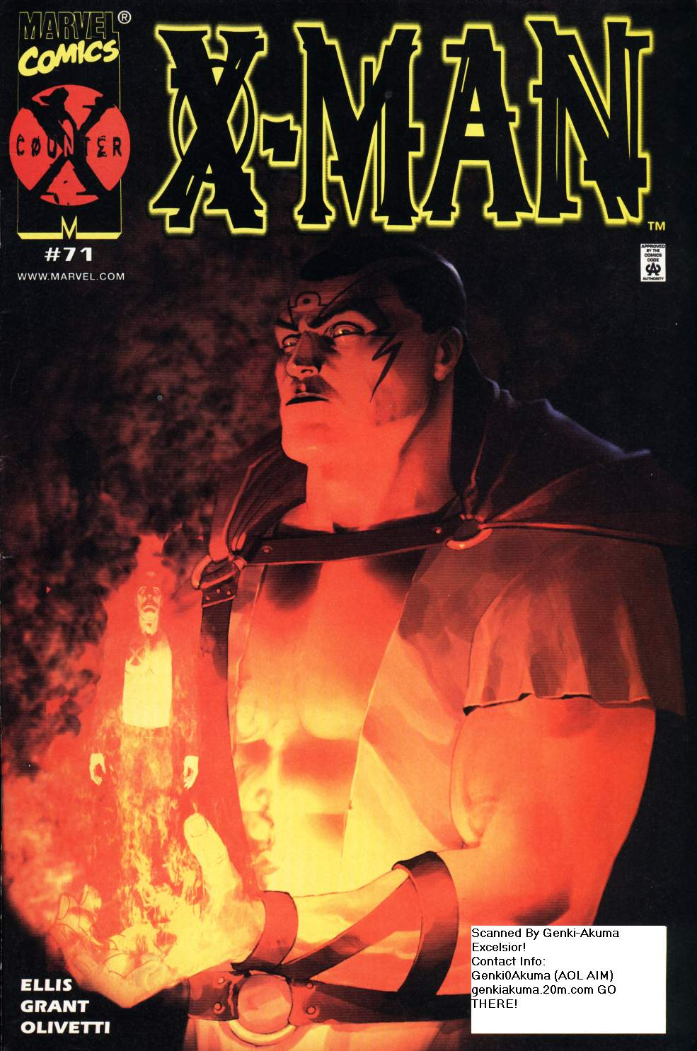 X-Man 71 Page 1