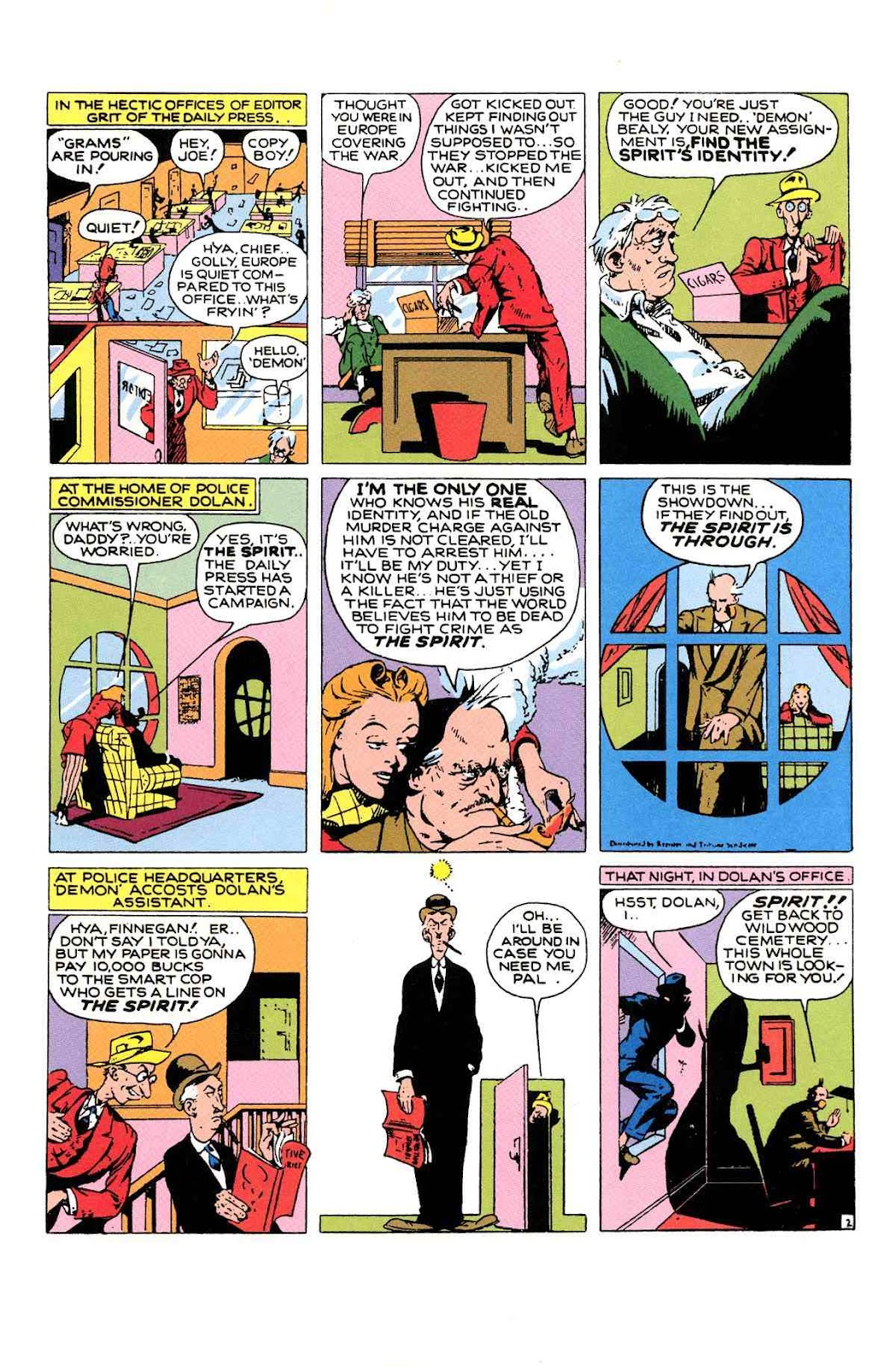 Read online Will Eisner's The Spirit Archives comic -  Issue # TPB 1 (Part 2) - 36