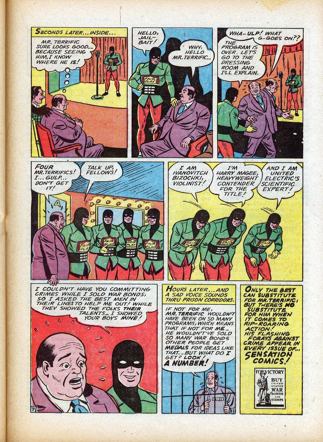 Read online Sensation (Mystery) Comics comic -  Issue #18 - 39