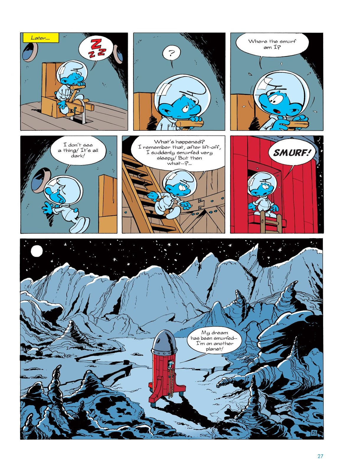 Read online The Smurfs comic -  Issue #7 - 27