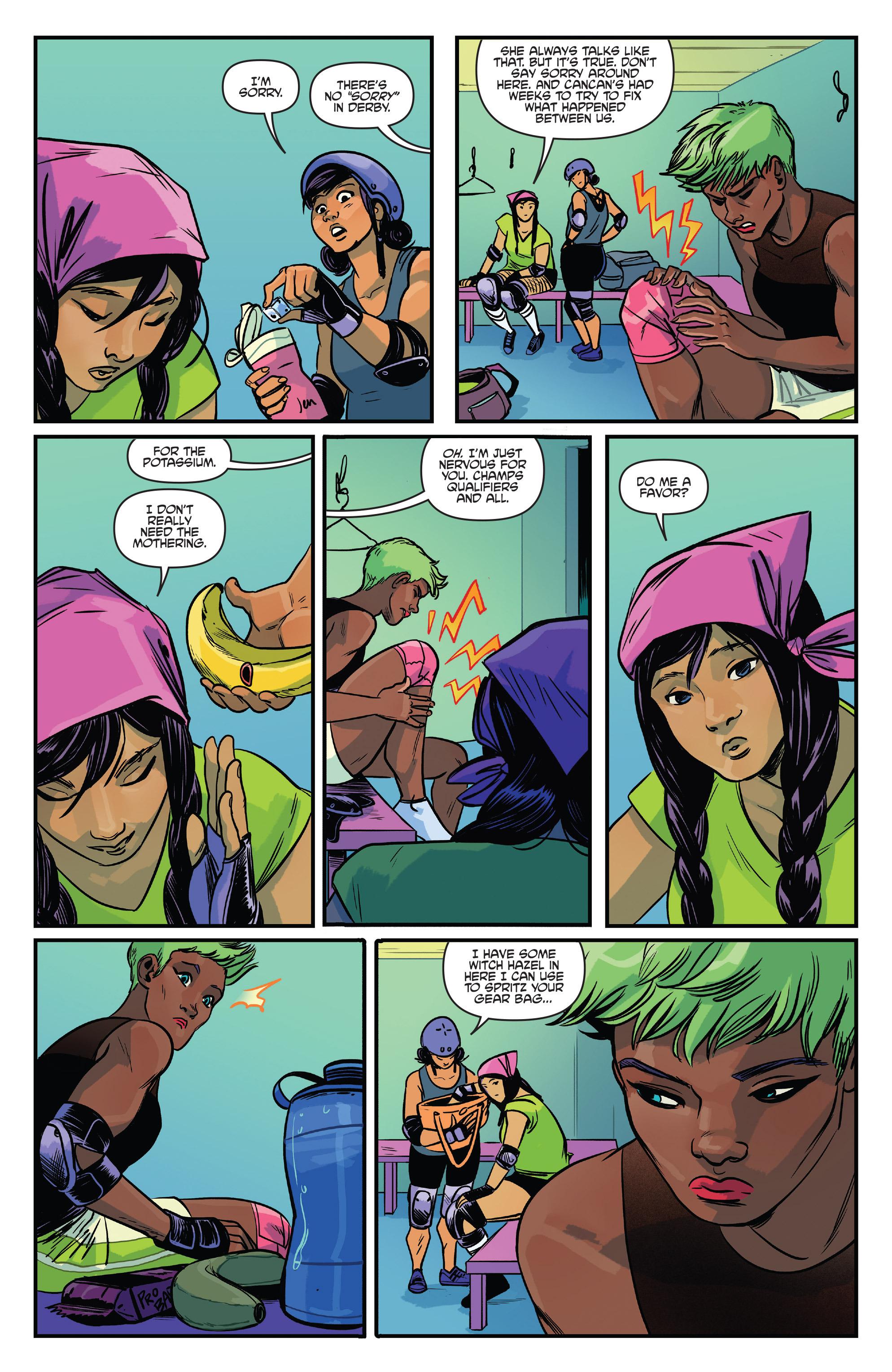 Read online Slam! comic -  Issue #4 - 8