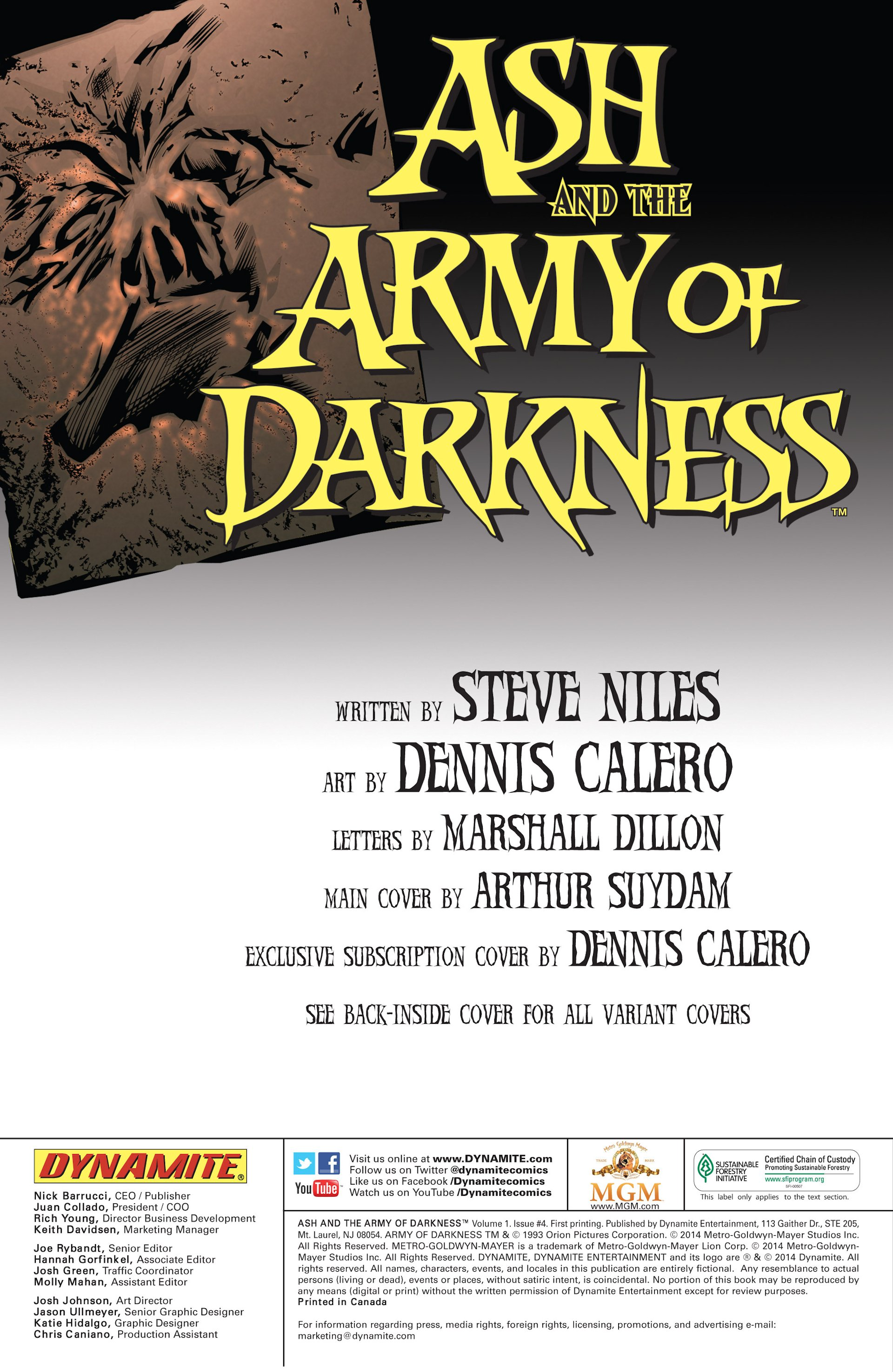 Read online Ash and the Army of Darkness comic -  Issue #4 - 2