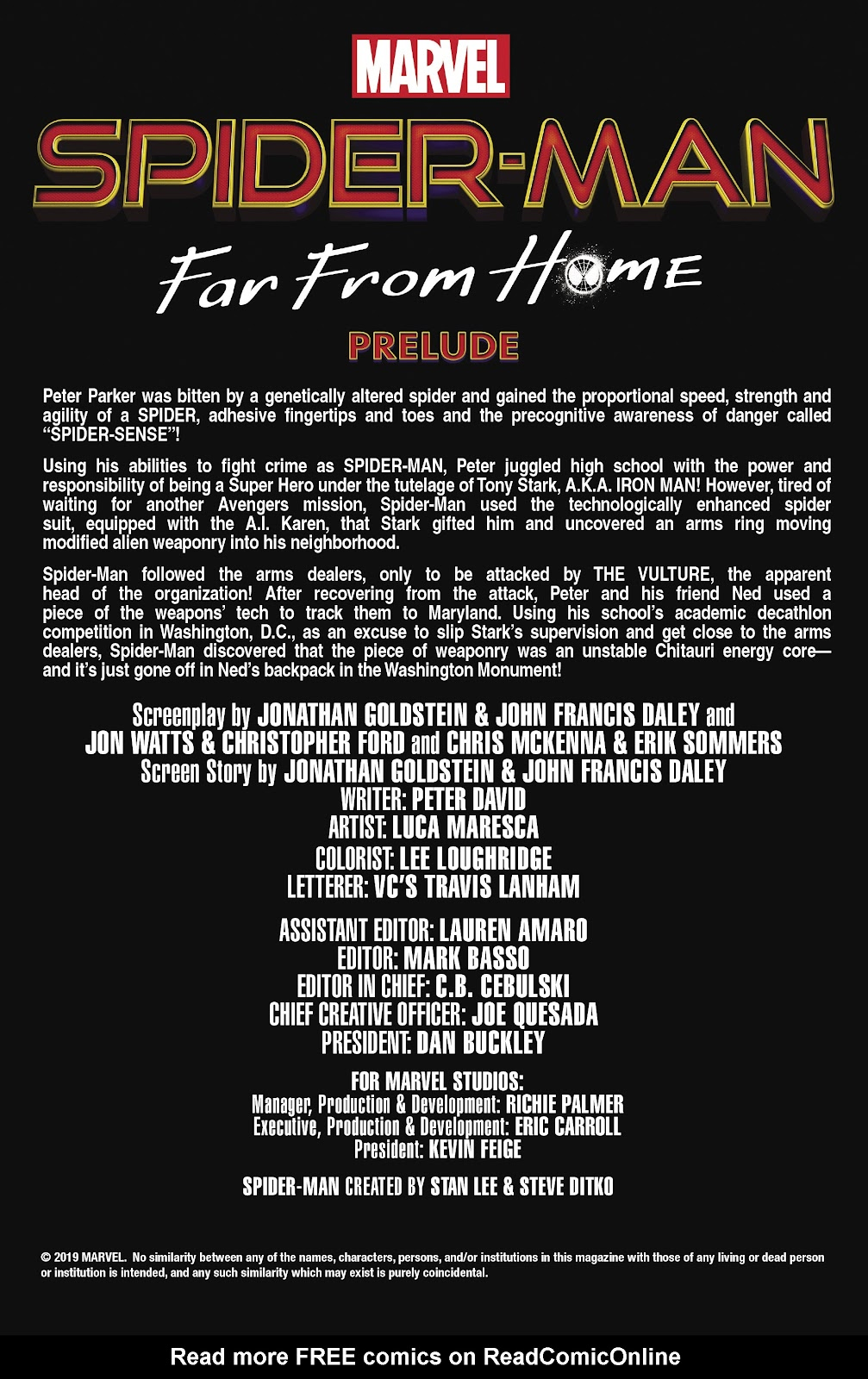 Read online Spider-Man: Far From Home Prelude comic -  Issue #2 - 2