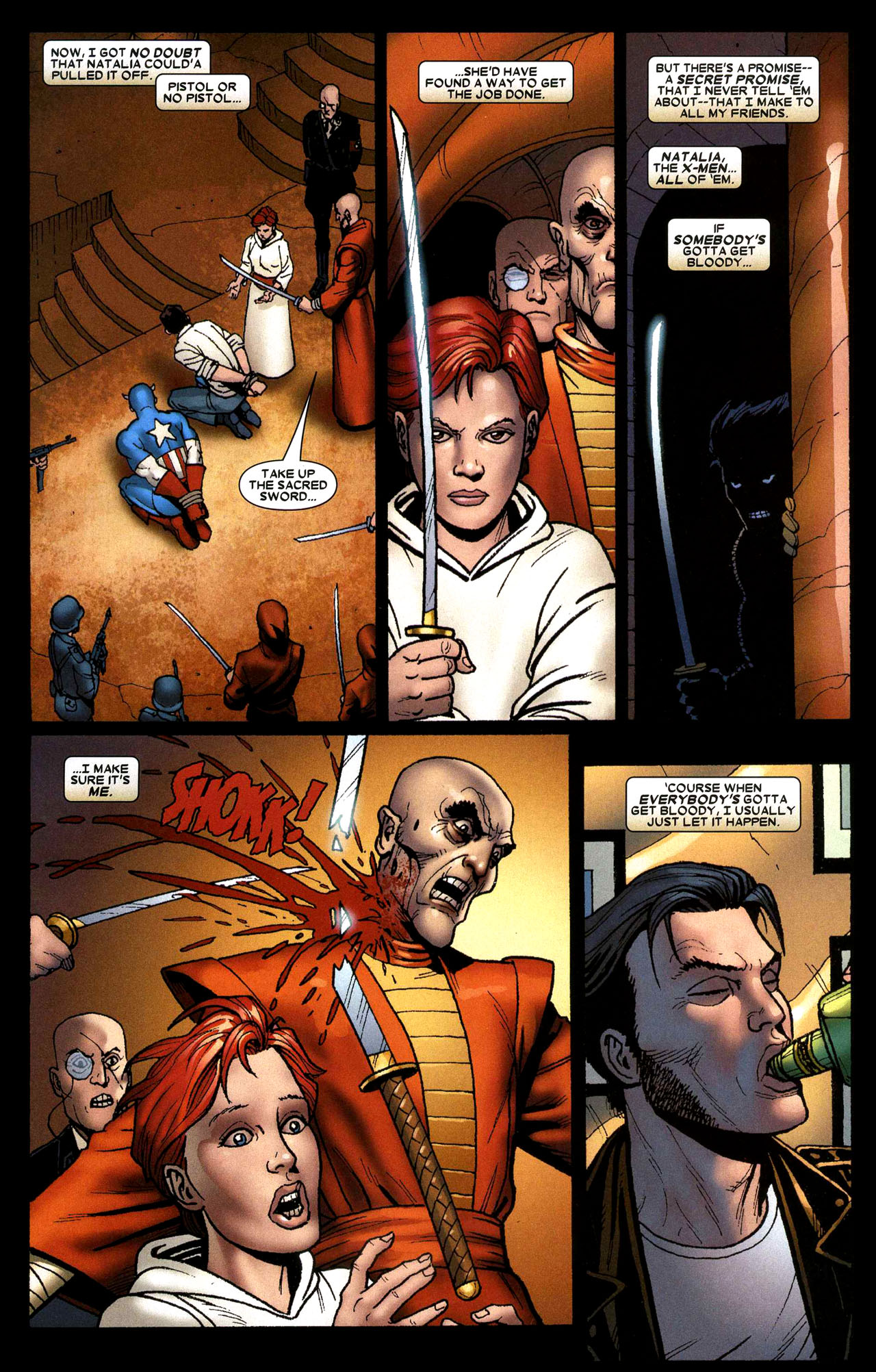 Read online Wolverine: Origins comic -  Issue #16 - 19
