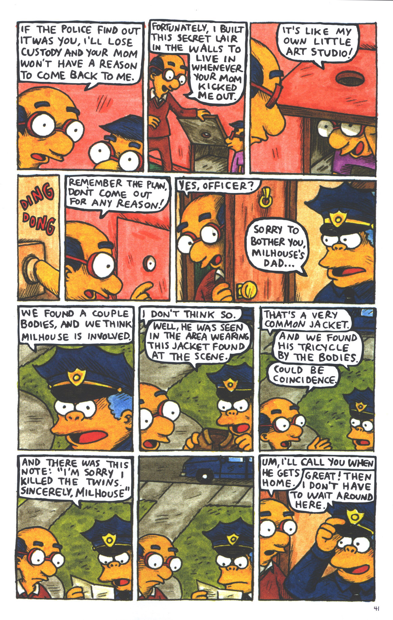 Read online Treehouse of Horror comic -  Issue #15 - 44