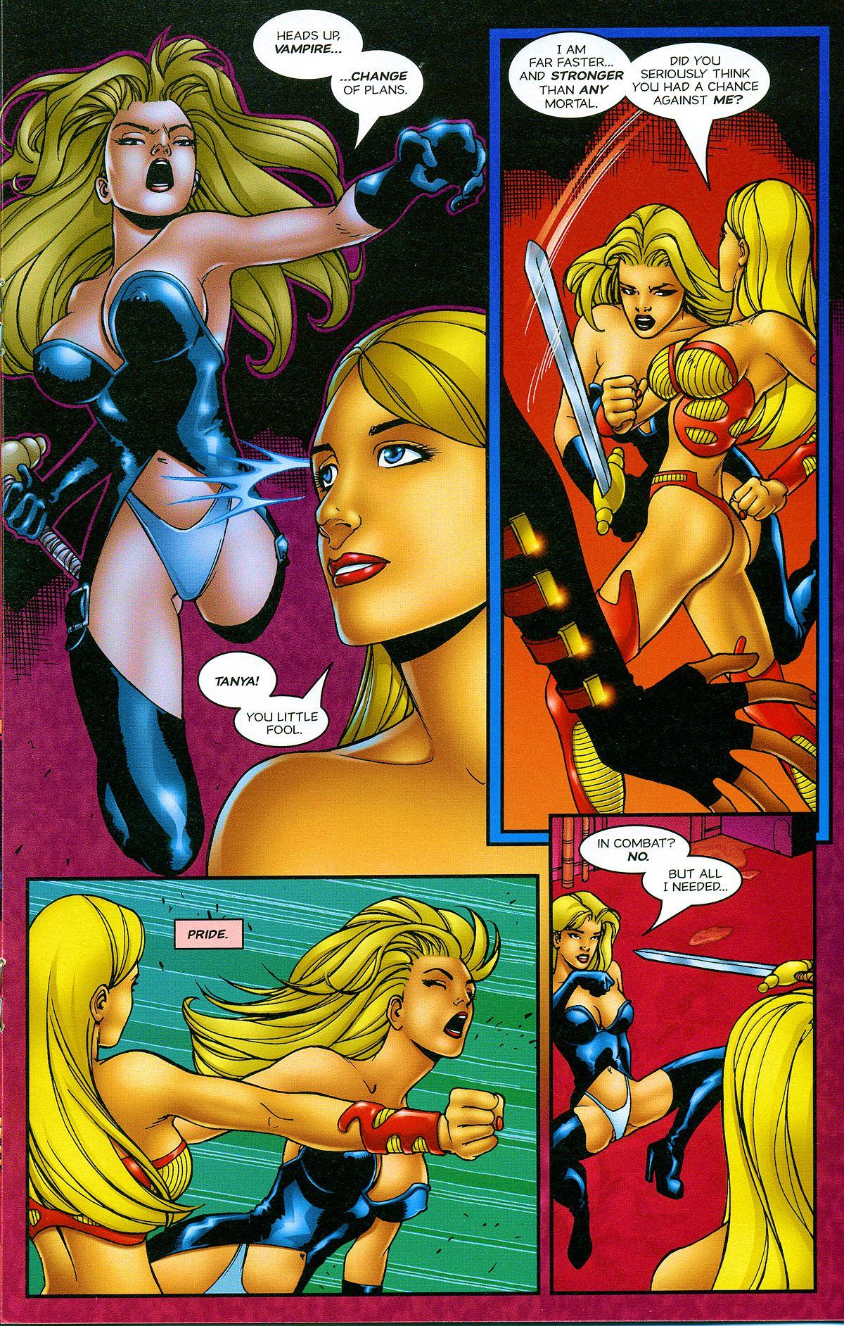 Read online Avengelyne: Bad Blood comic -  Issue #2 - 20