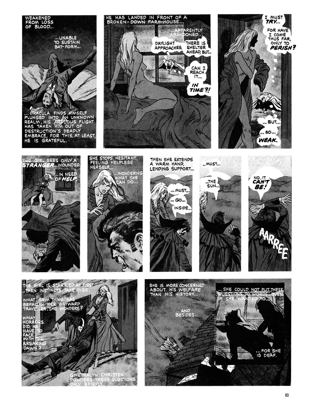 Read online Eerie Archives comic -  Issue # TPB 10 - 84