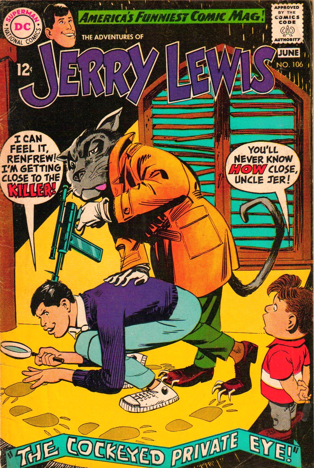 The Adventures of Jerry Lewis 106 Page 1