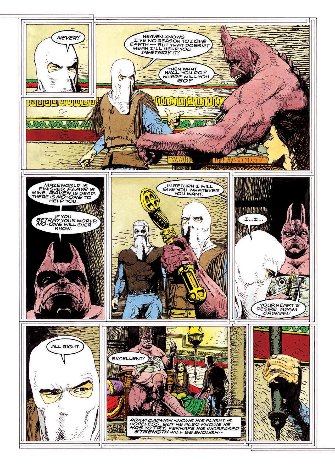 Read online Mazeworld comic -  Issue # TPB - 176