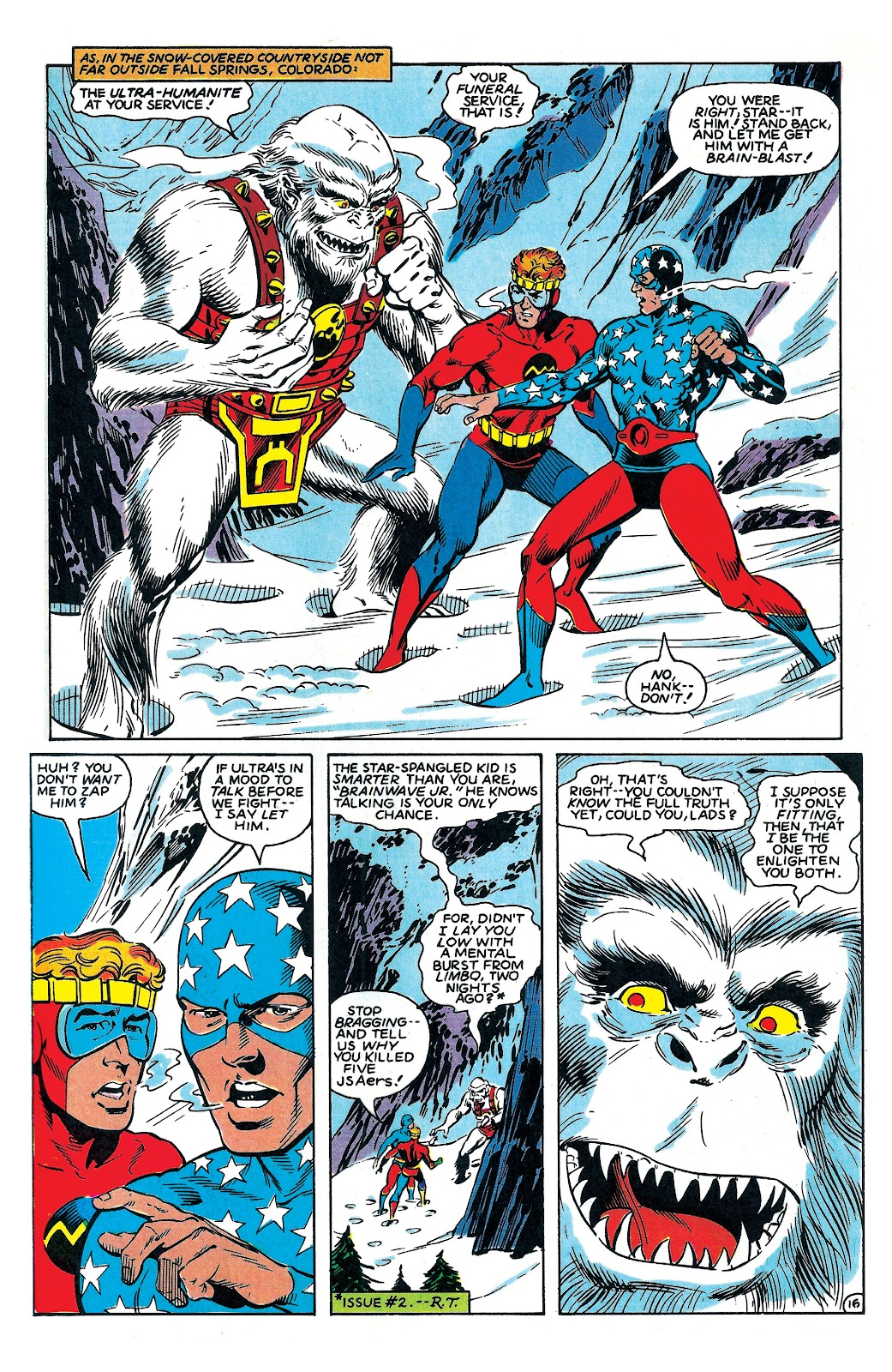 Infinity Inc. (1984) issue 6 - Page 17