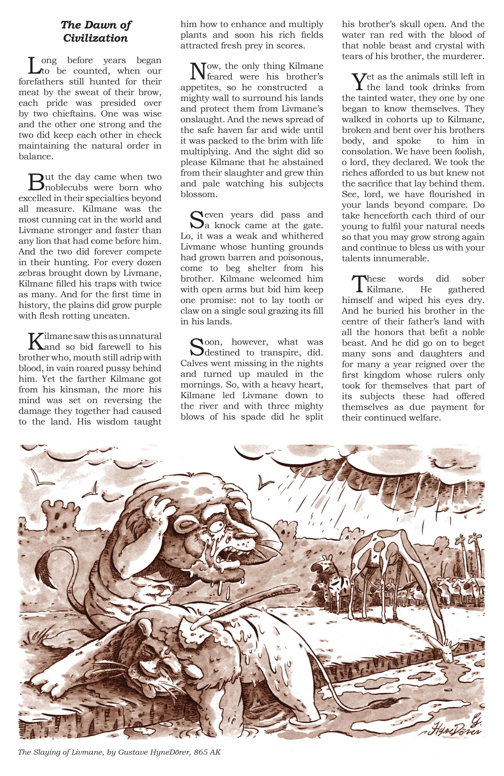 Read online Animal Noir comic -  Issue #4 - 23
