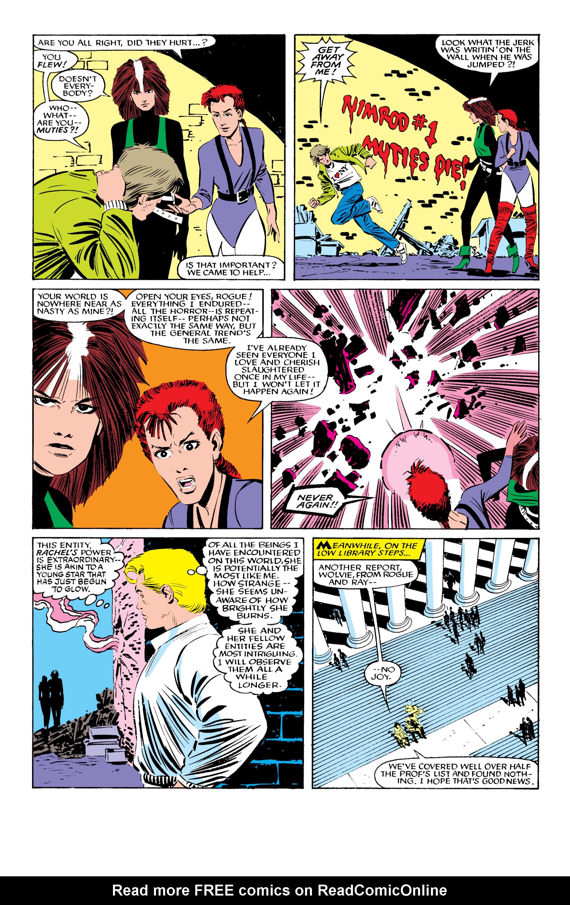 Read online Uncanny X-Men (1963) comic -  Issue #196 - 12