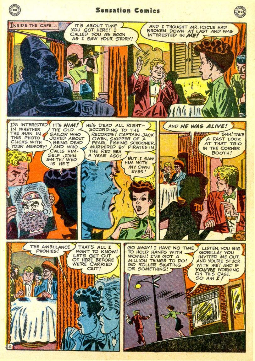 Read online Sensation (Mystery) Comics comic -  Issue #85 - 19