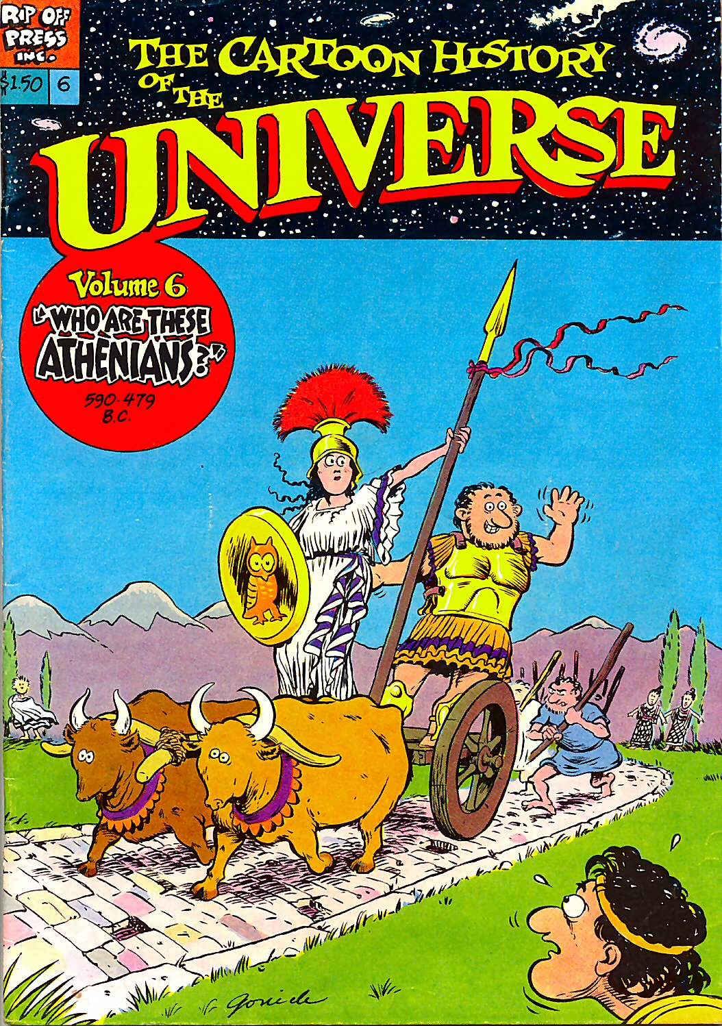 Read online The Cartoon History of the Universe comic -  Issue #6 - 1