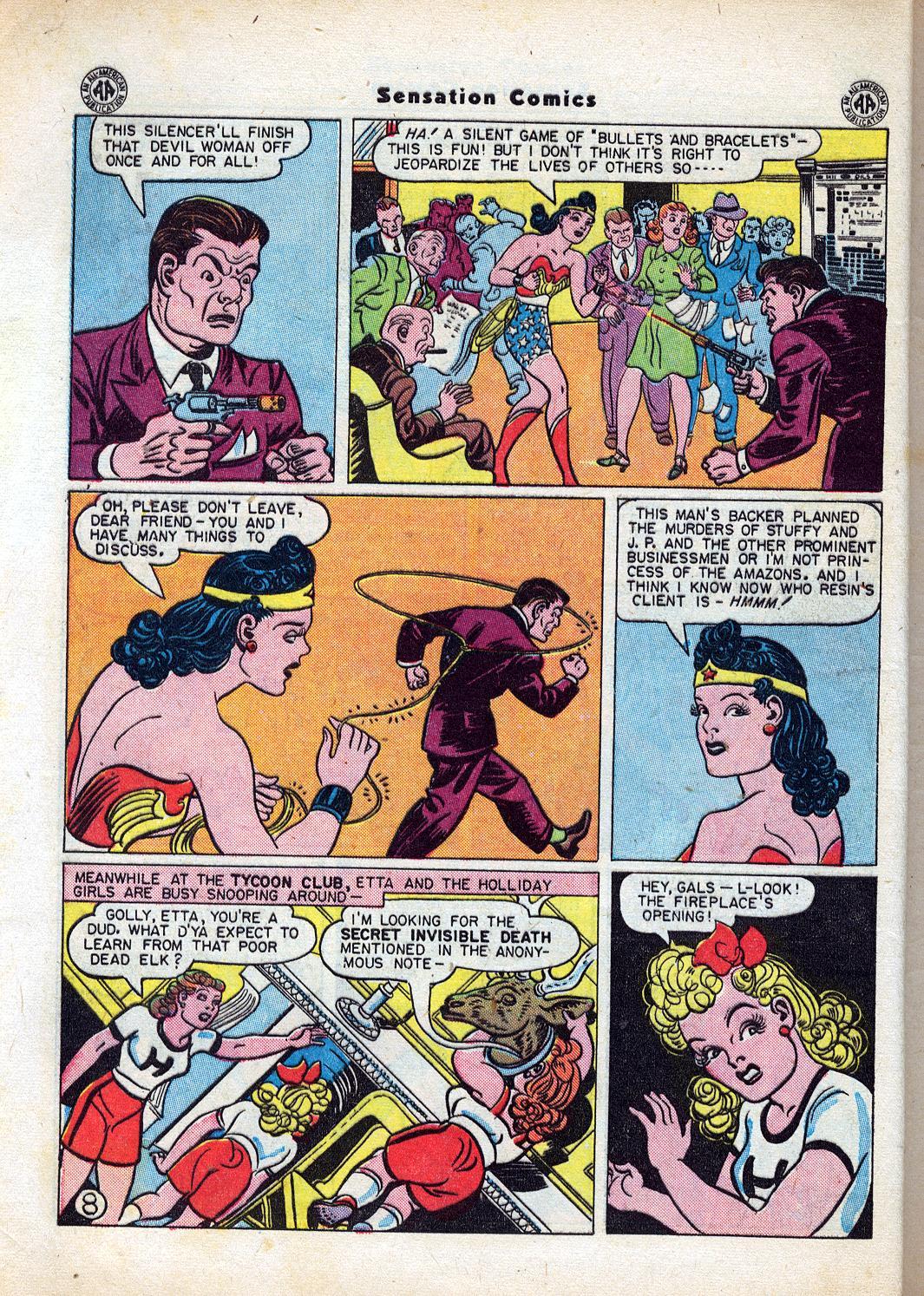 Read online Sensation (Mystery) Comics comic -  Issue #47 - 10