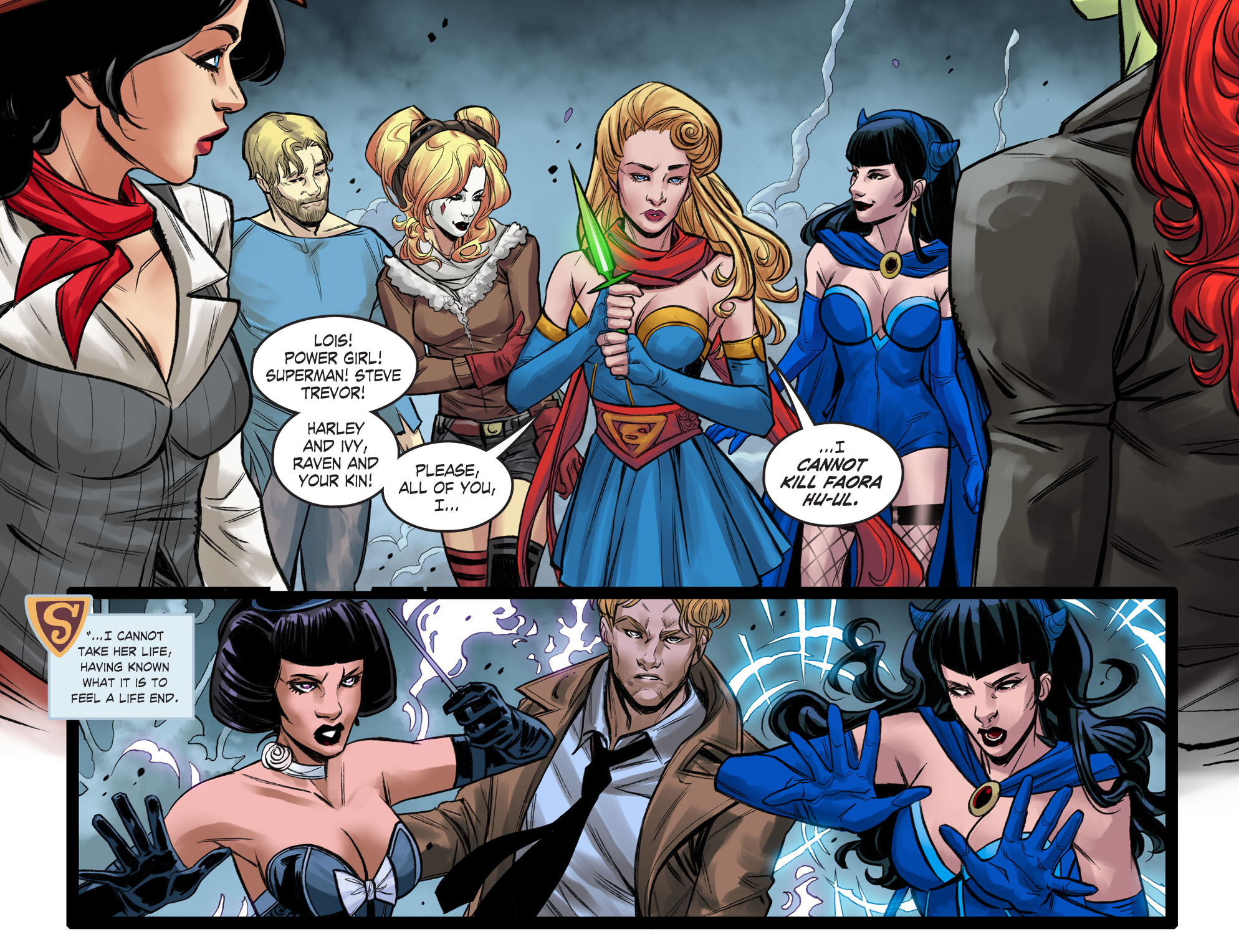 Read online DC Comics: Bombshells comic -  Issue #99 - 16