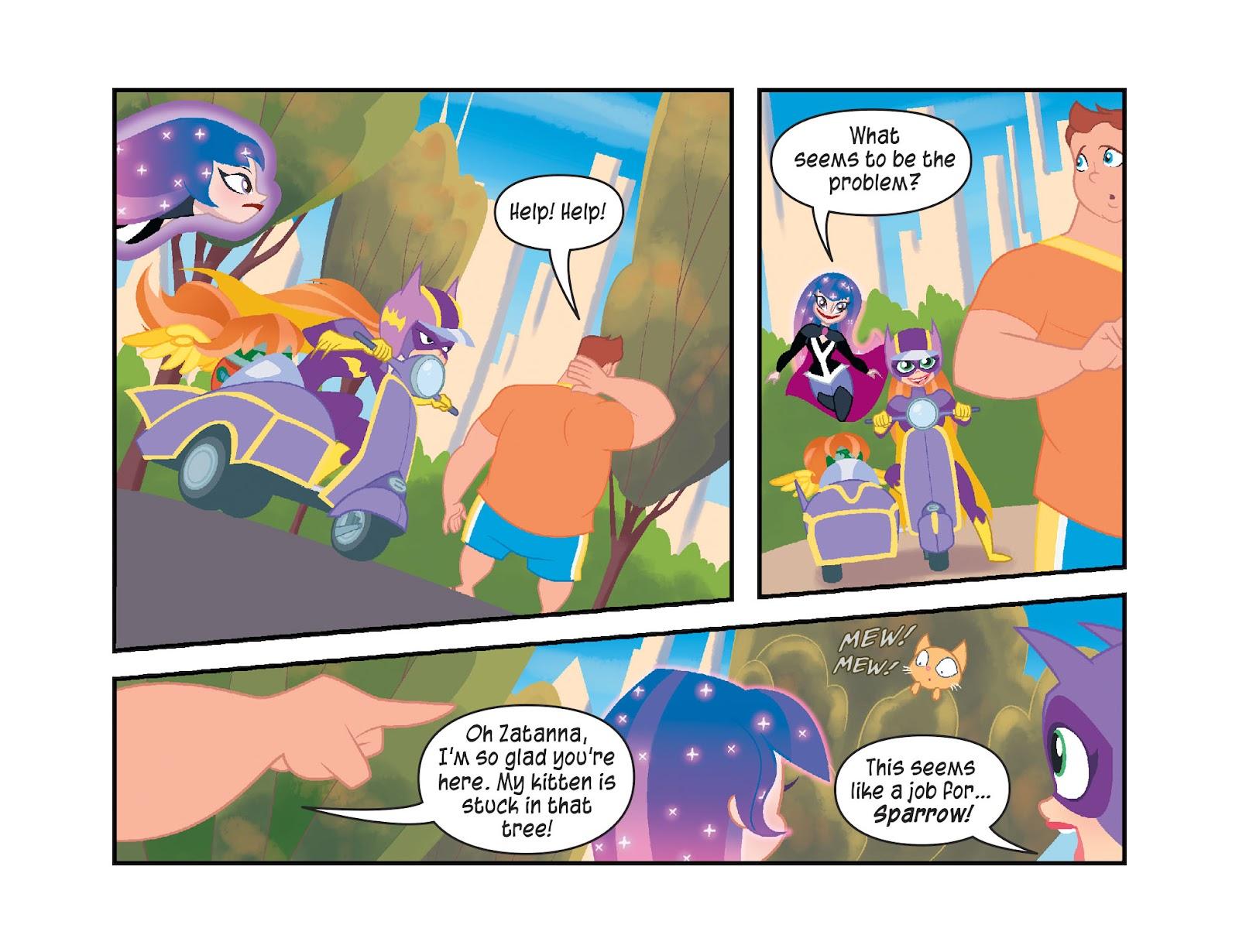 Read online DC Super Hero Girls: Weird Science comic -  Issue #10 - 12
