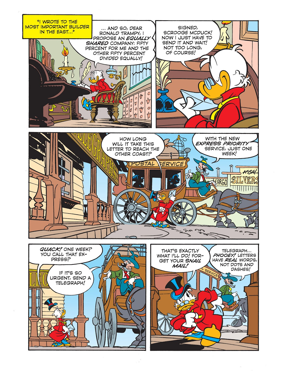 All of Scrooge McDuck's Millions Issue #2 #2 - English 7
