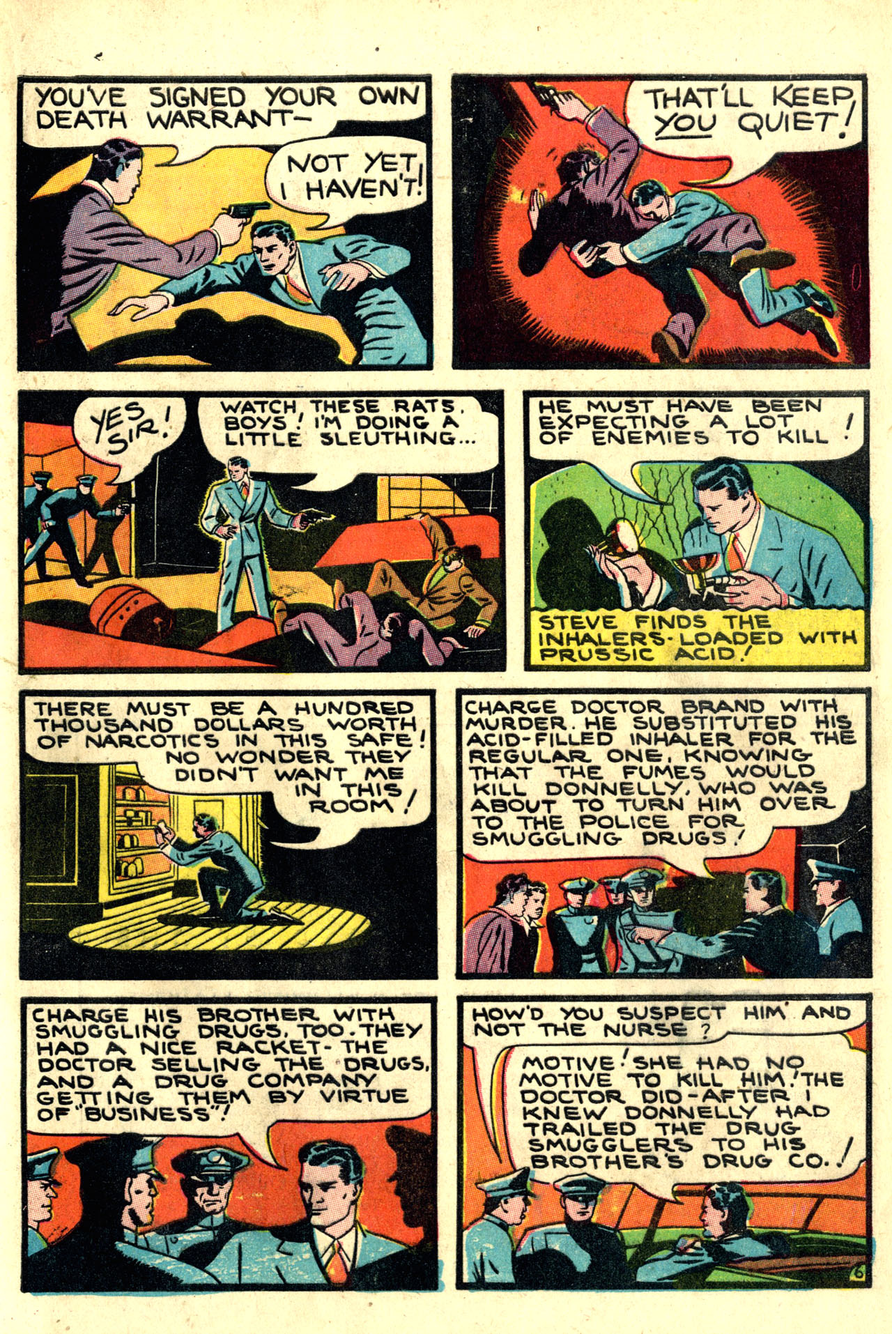 Read online Detective Comics (1937) comic -  Issue #44 - 49