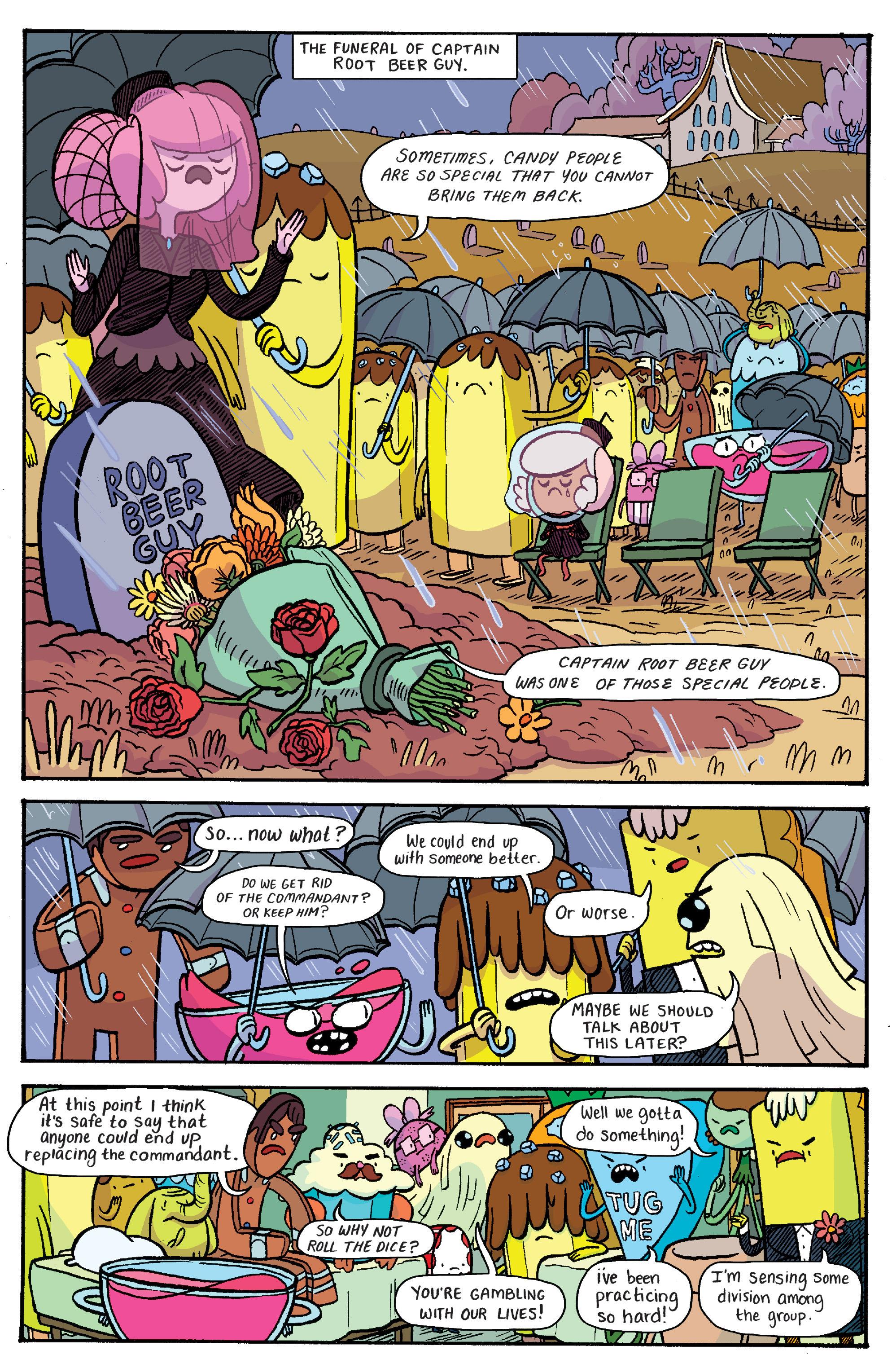 Read online Adventure Time: Banana Guard Academ comic -  Issue #4 - 15