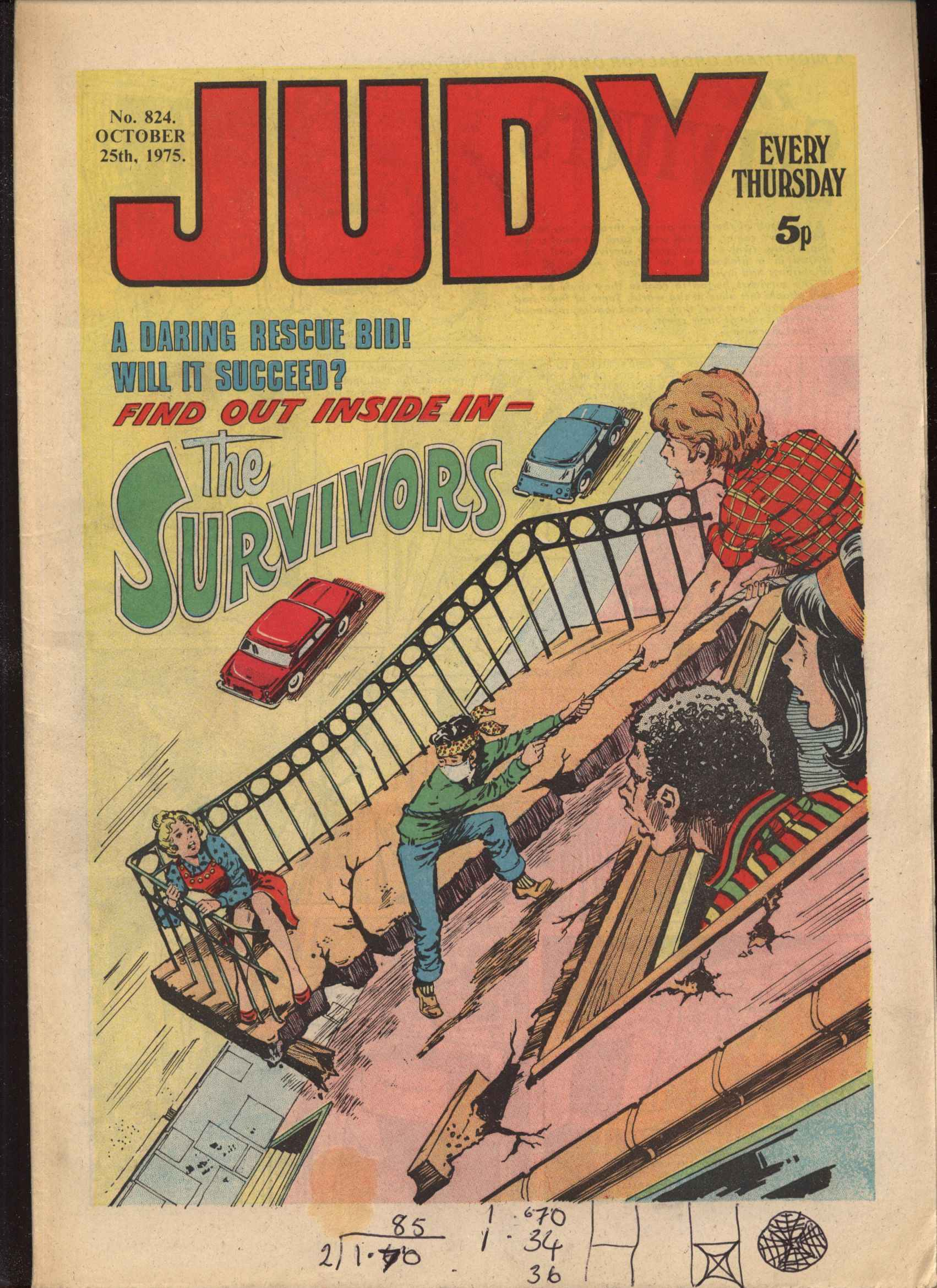 Read online Judy comic -  Issue #824 - 1