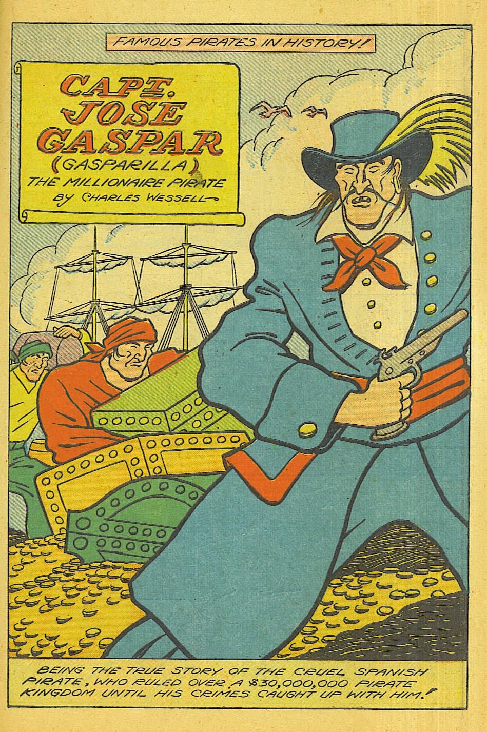 Read online Super-Magician Comics comic -  Issue #39 - 38