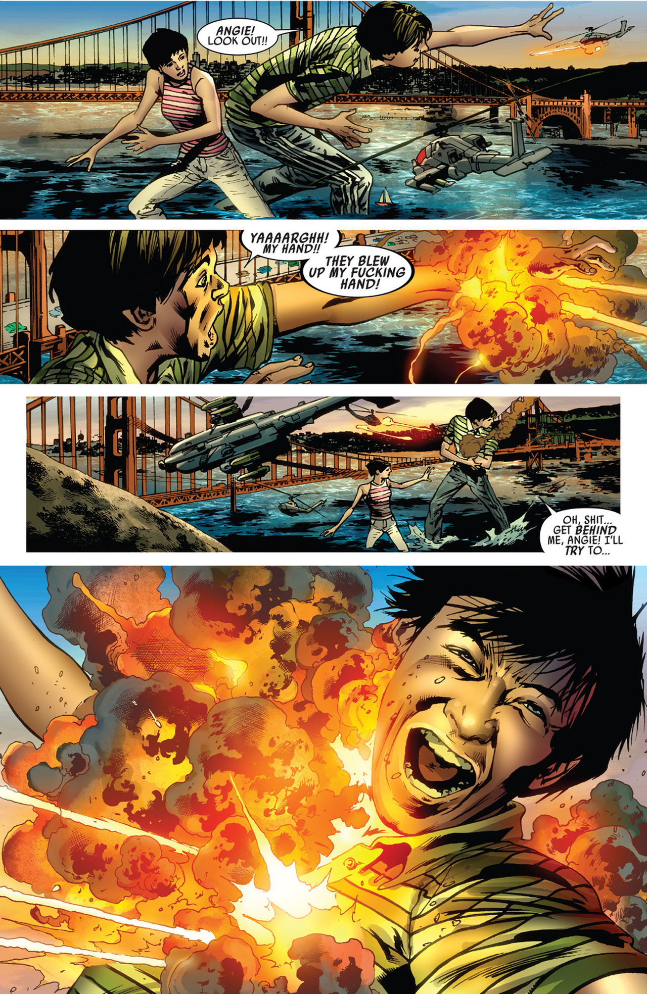 Read online America's Got Powers comic -  Issue #5 - 12