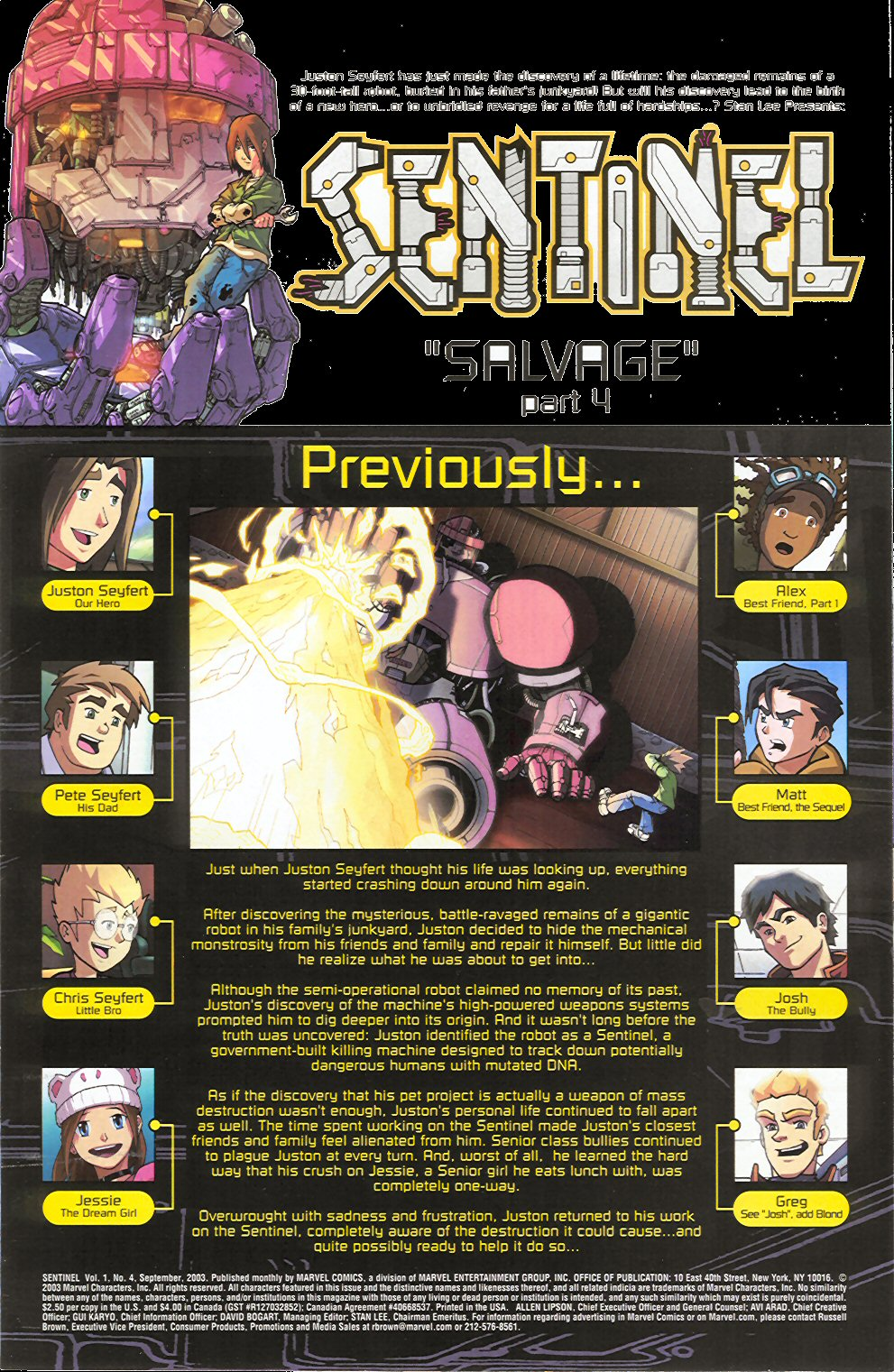 Read online Sentinel comic -  Issue #4 - 3