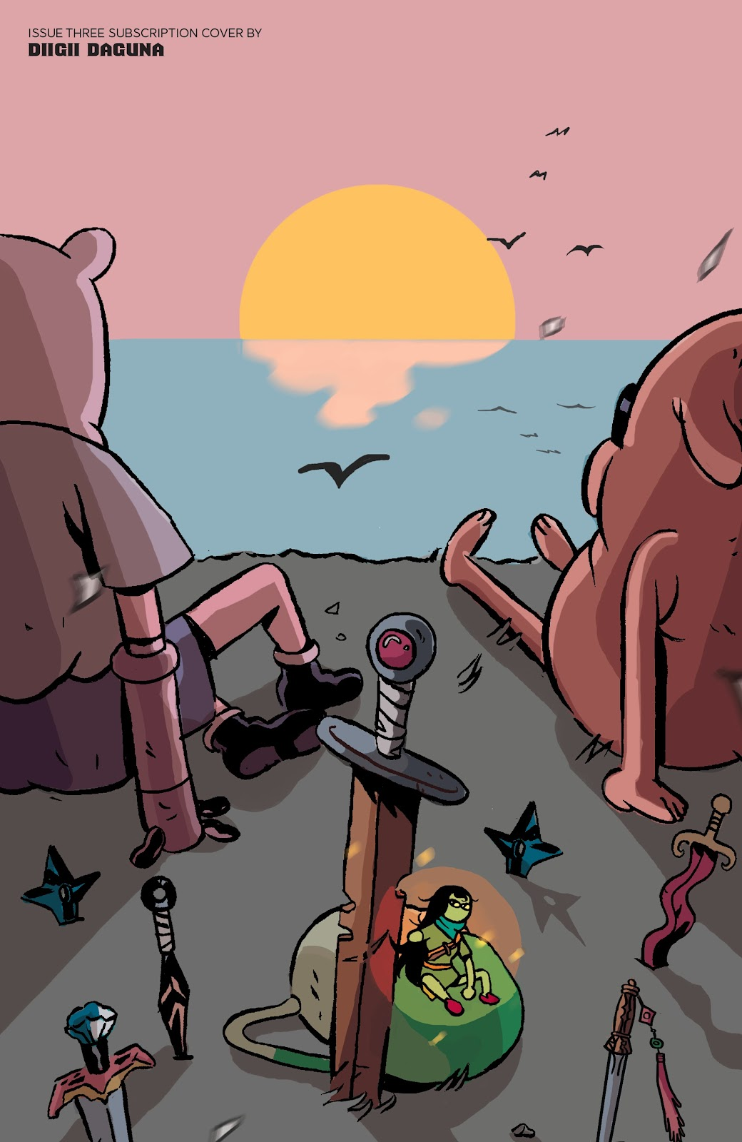 Read online Adventure Time: Beginning of the End comic -  Issue # _TPB - 105