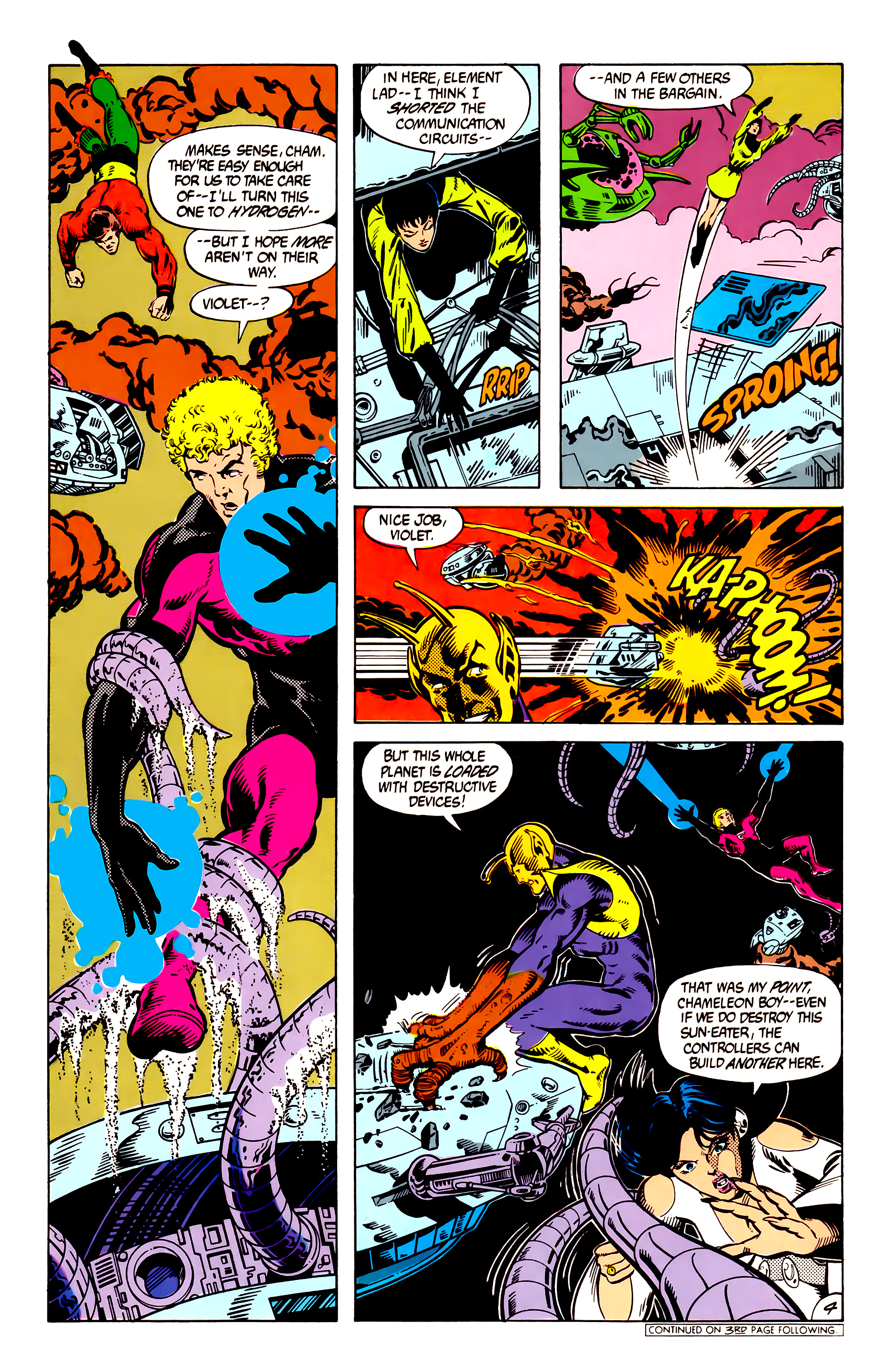 Legion of Super-Heroes (1984) 8 Page 5