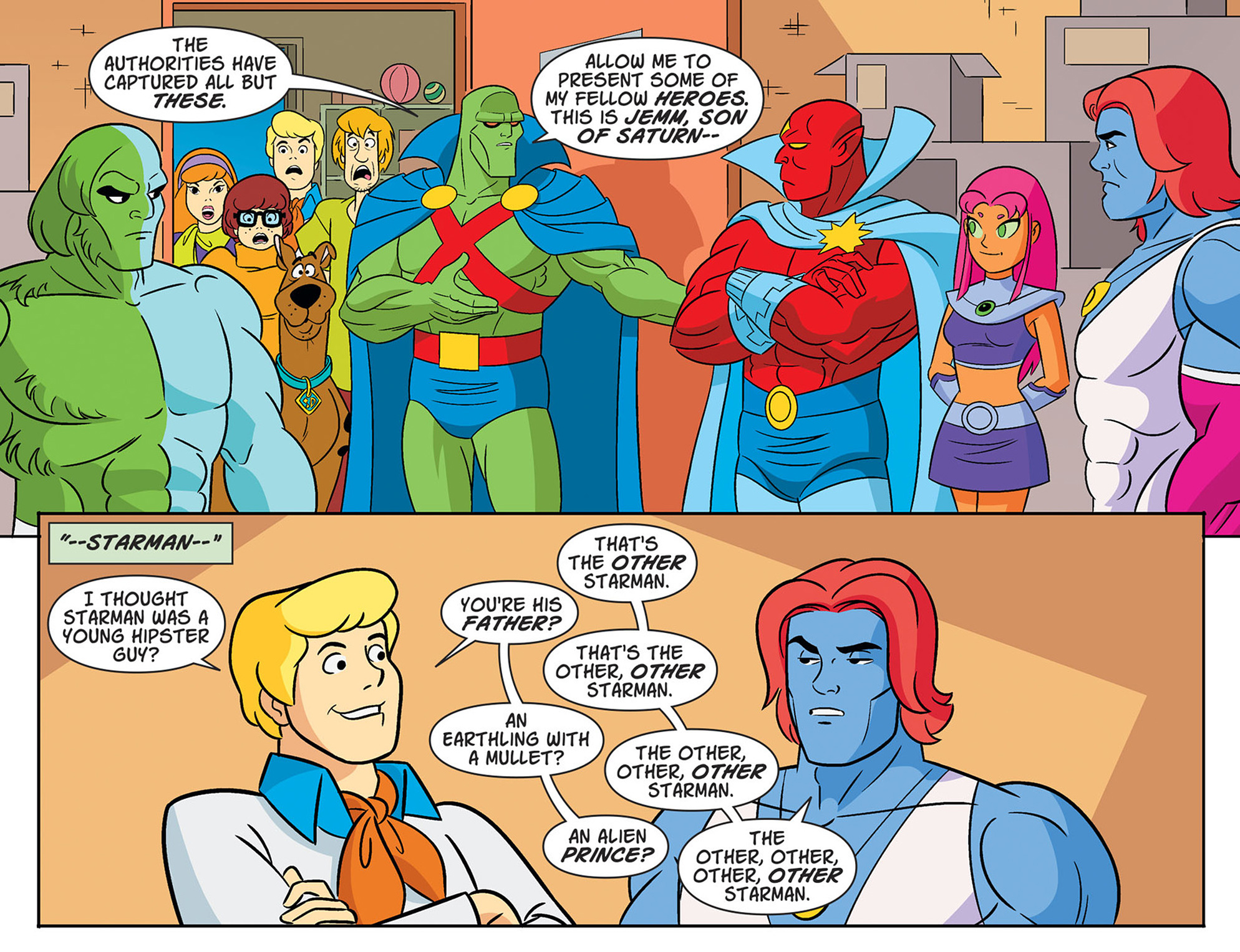 Read online Scooby-Doo! Team-Up comic -  Issue #47 - 14