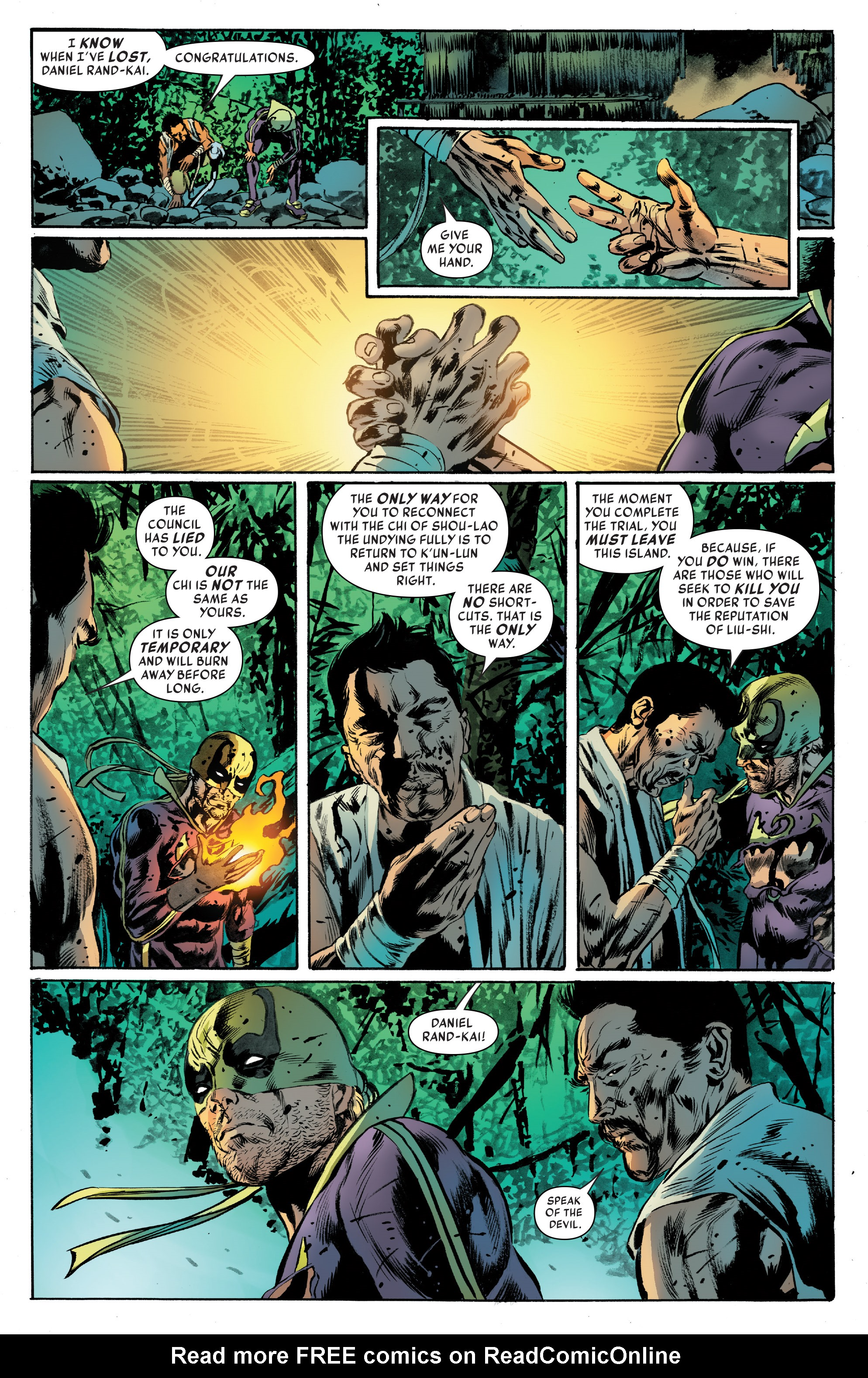 Read online Iron Fist (2017) comic -  Issue #4 - 18